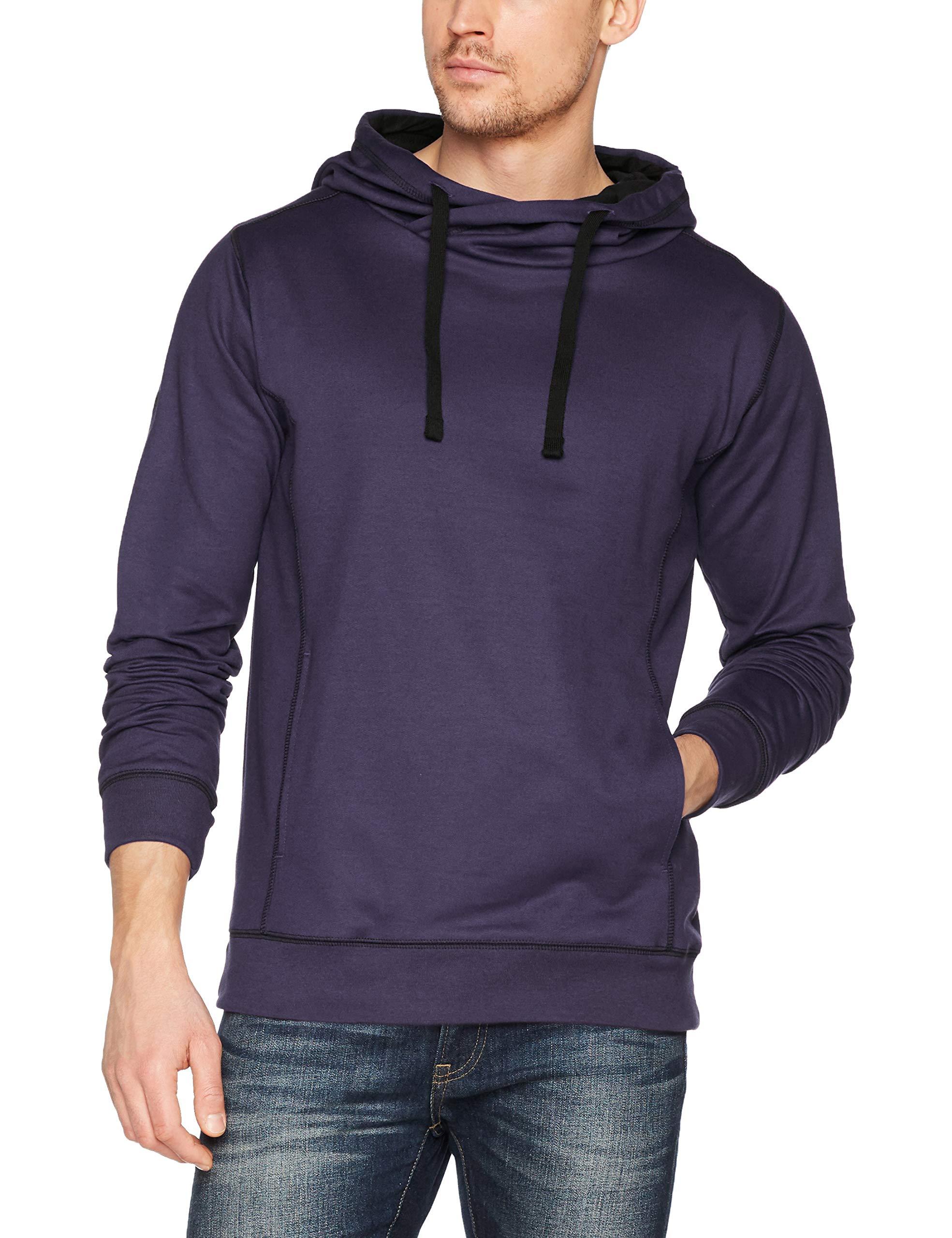 À CapucheVioletdeep Trigema Sweat Homme Purple 195Xx 674905 shirt large shtQrd