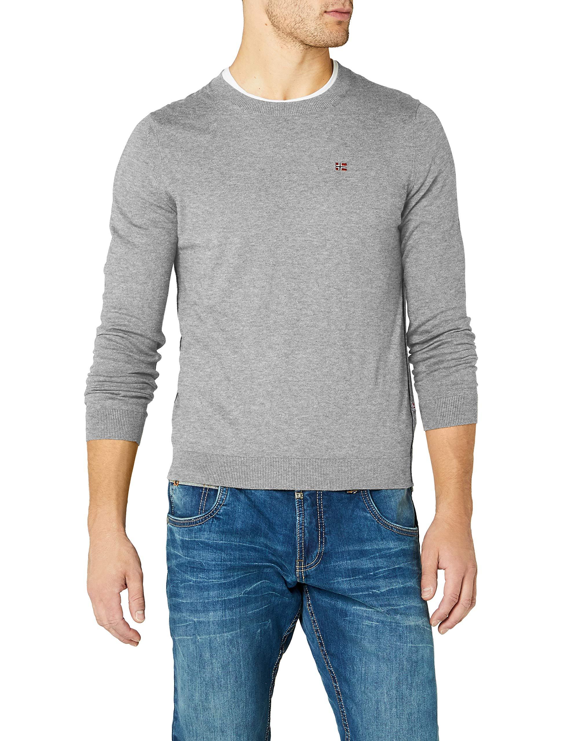 Mel Decatur Homme Grey NapapijriN0yhe6 1 Pull Grismed 160TailleXl thsQrdC