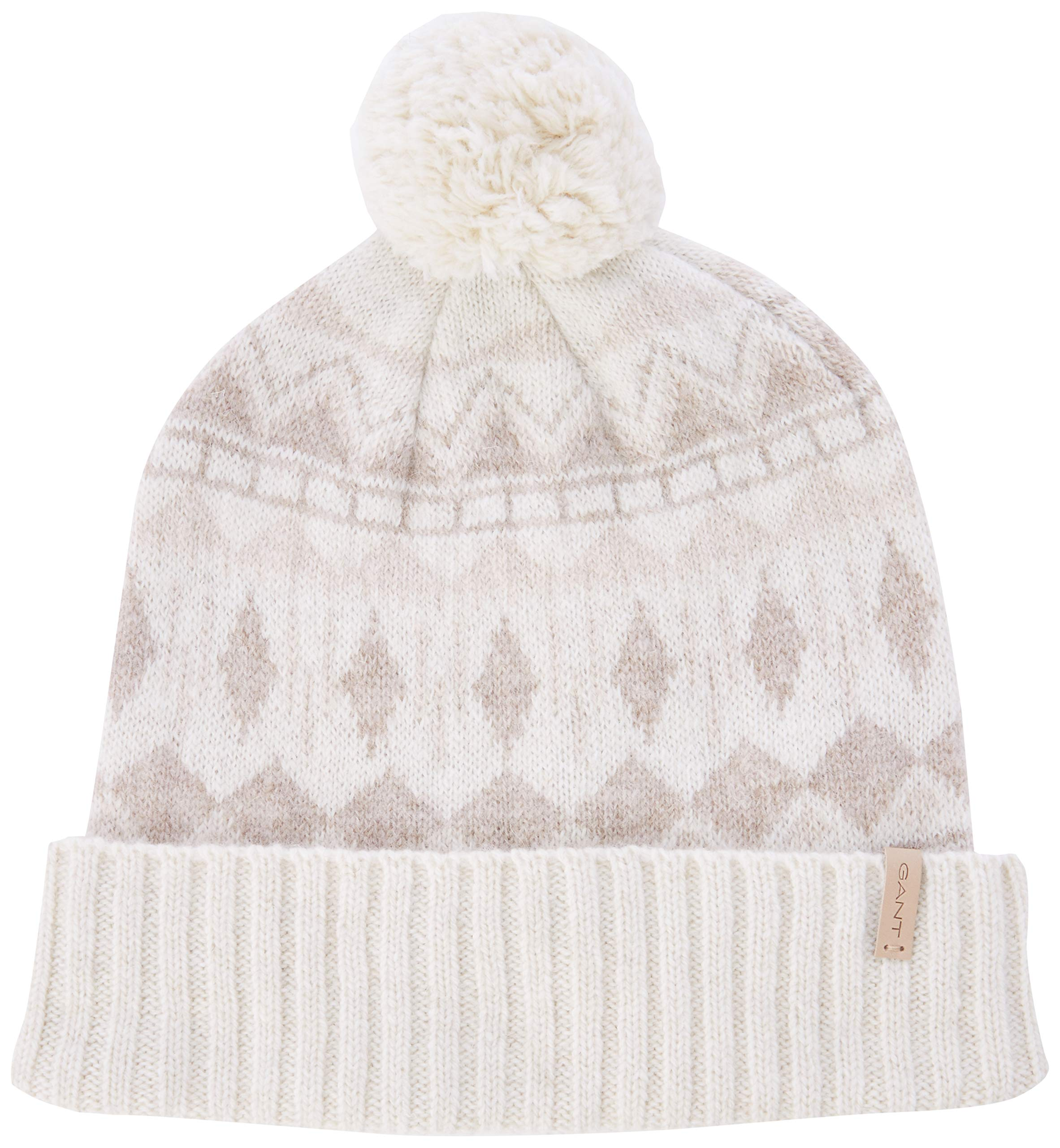 Femme BonnetEcrueggshellTaille Knit Hat Unique Gant O2Nordic iXZuPOk