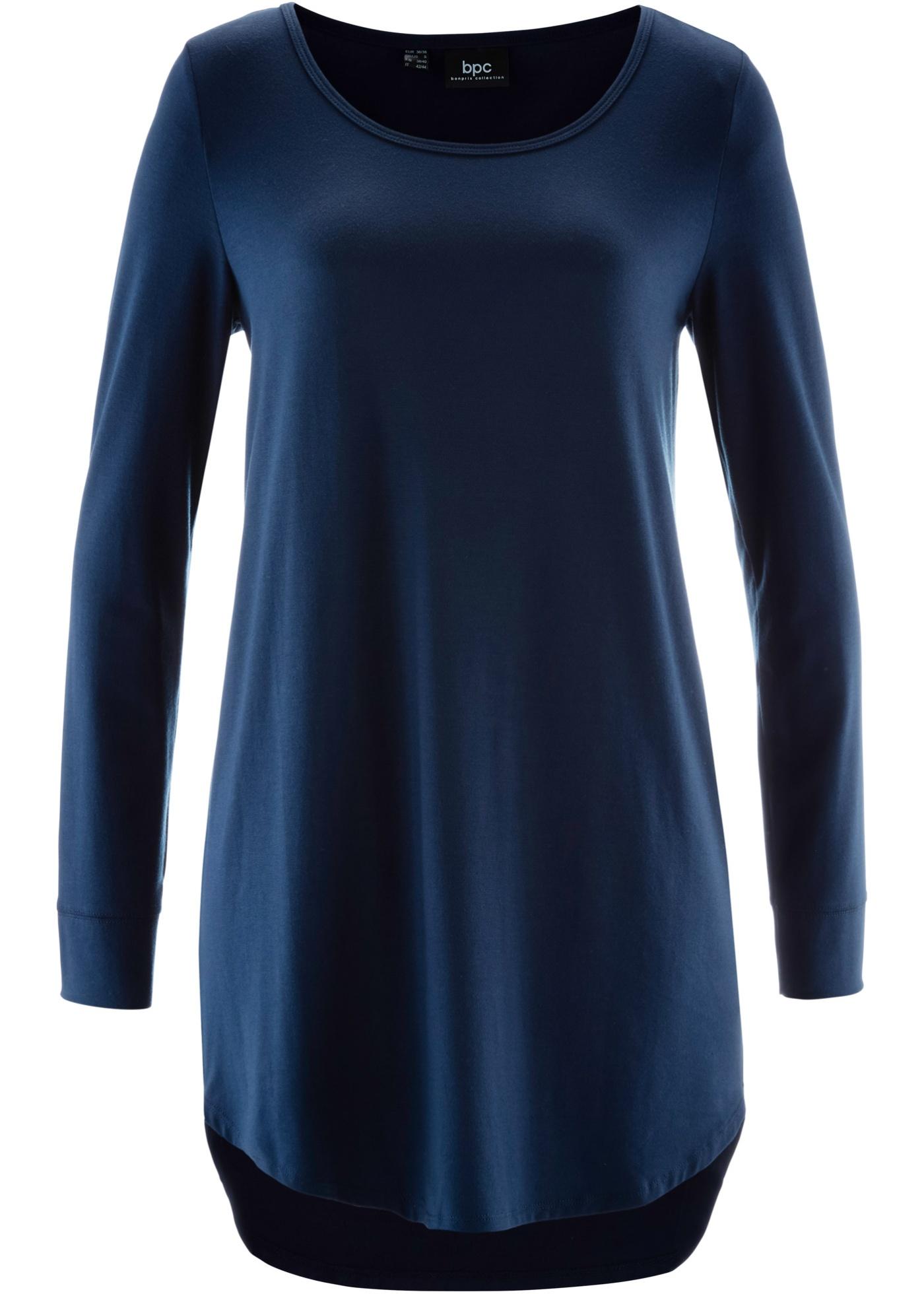 Bpc À Manches Bonprix Femme CollectionT Bleu Pour shirt Long Longues hQsdtrC