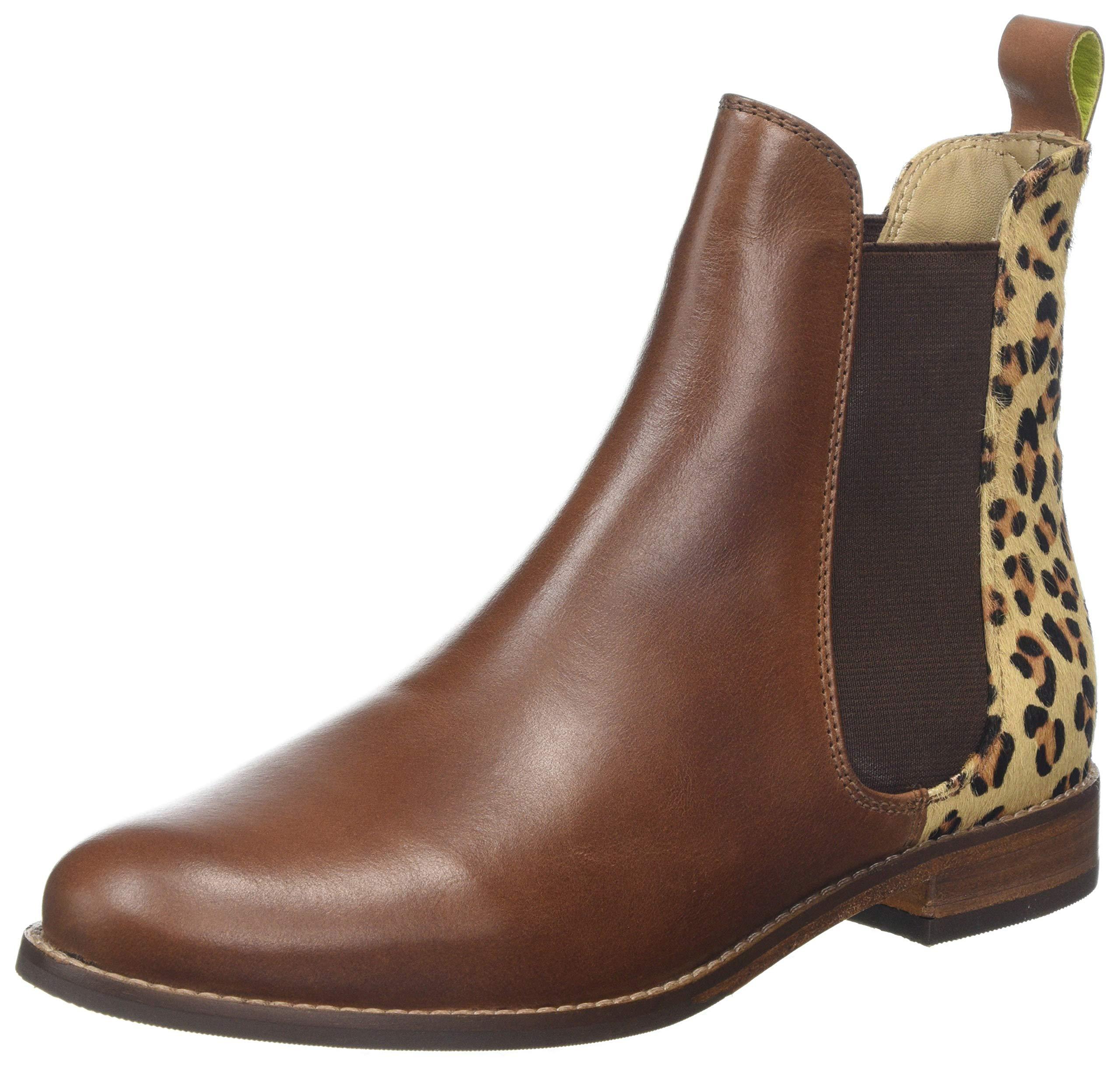 Eu FemmeMarron Leopard36 WestbourneBottes Chelsea Joules nk0wXP8O