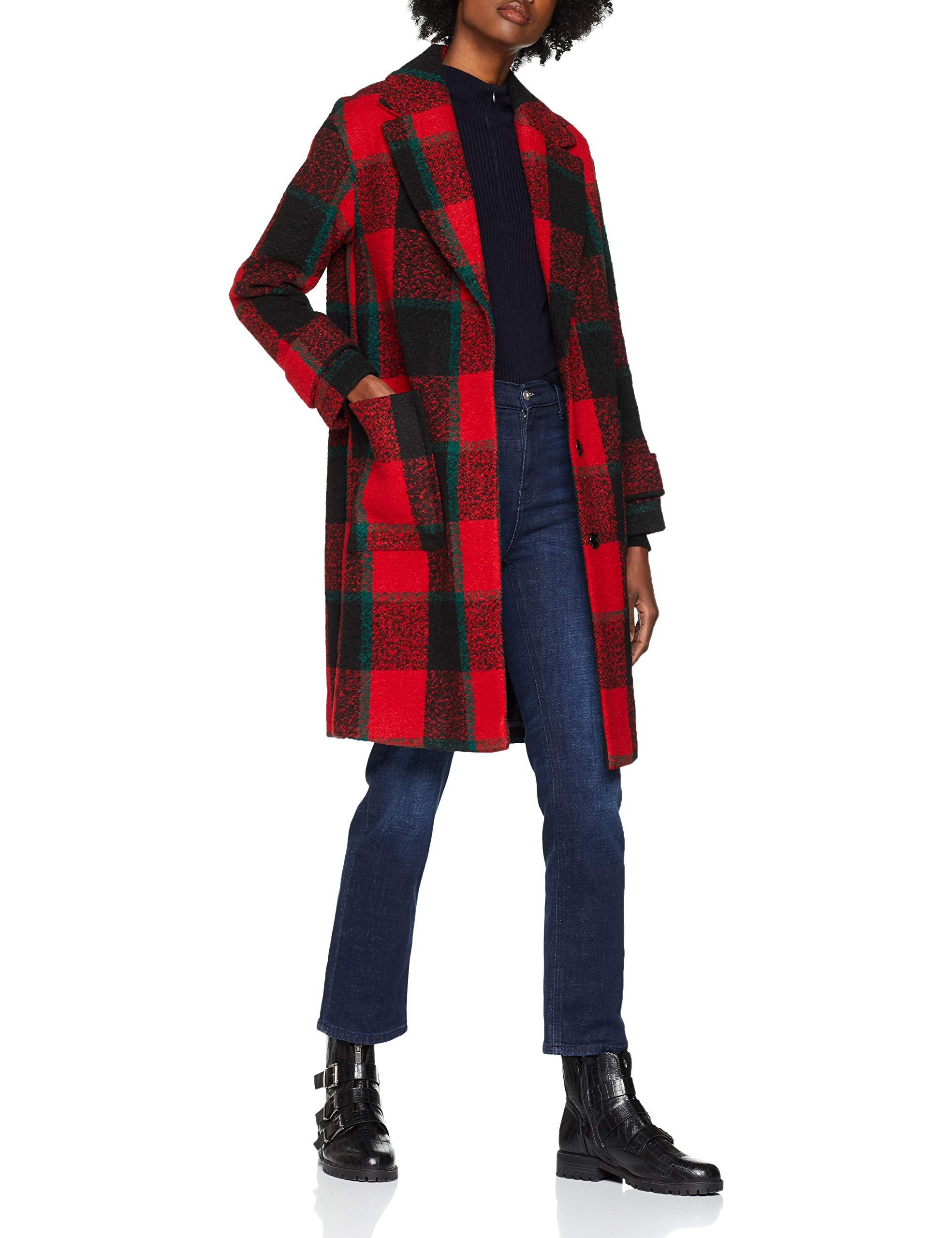 5951294 ManteauRougered 6938taille New Look Toronto Blanket Pattern Fabricant10Femme zVMqSUpGL