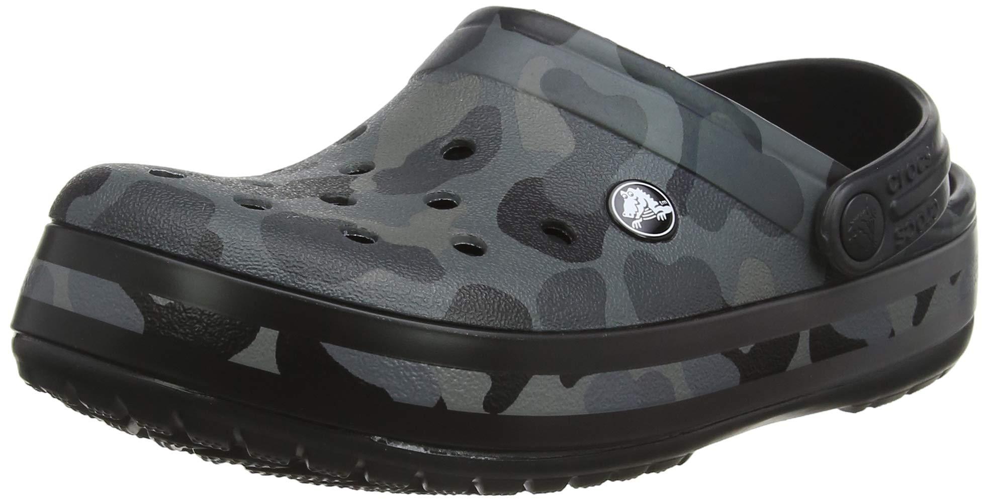 Crocband Seasonal ClogSabots AdulteGrisslate 0dy42 Mixte black Crocs 43 Eu Graphic Grey 7bYgf6y