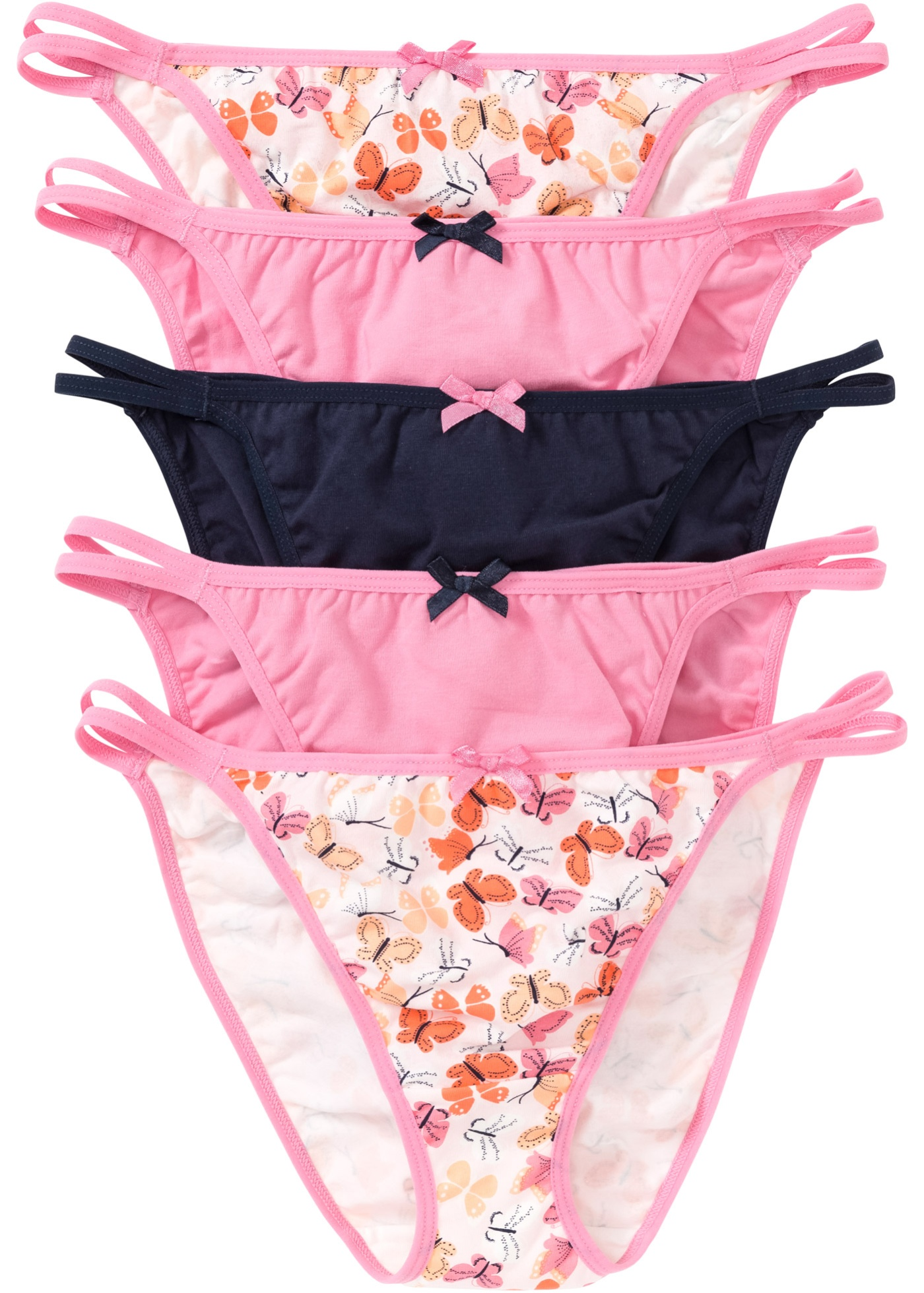 Orange Tangas CollectionLot Pour Bpc Femme Bonprix De 5 UpSzMqV