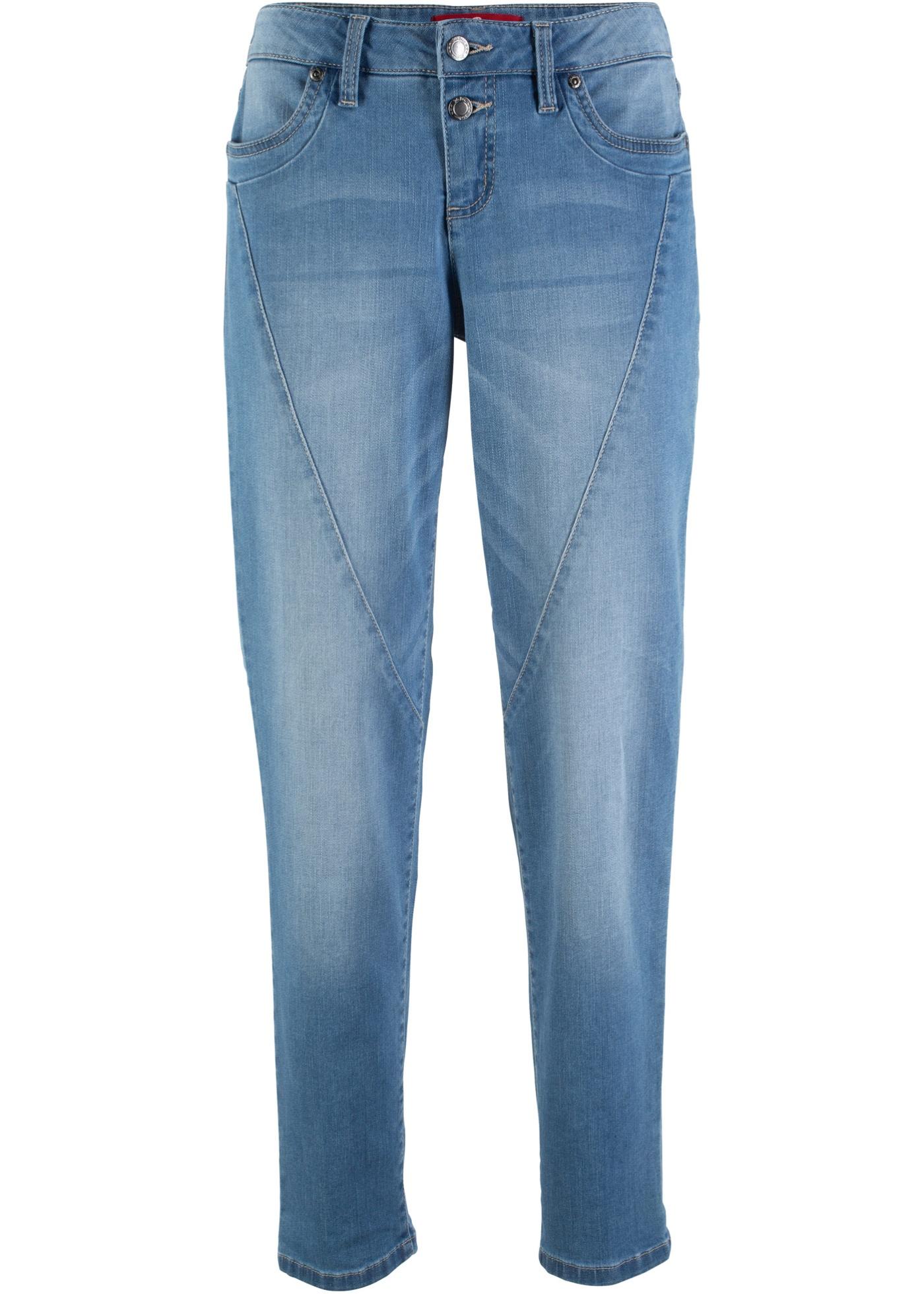 Femme Boyfriend John BonprixJean Multi Pour stretch Baner Jeanswear Bleu Yg7bf6y