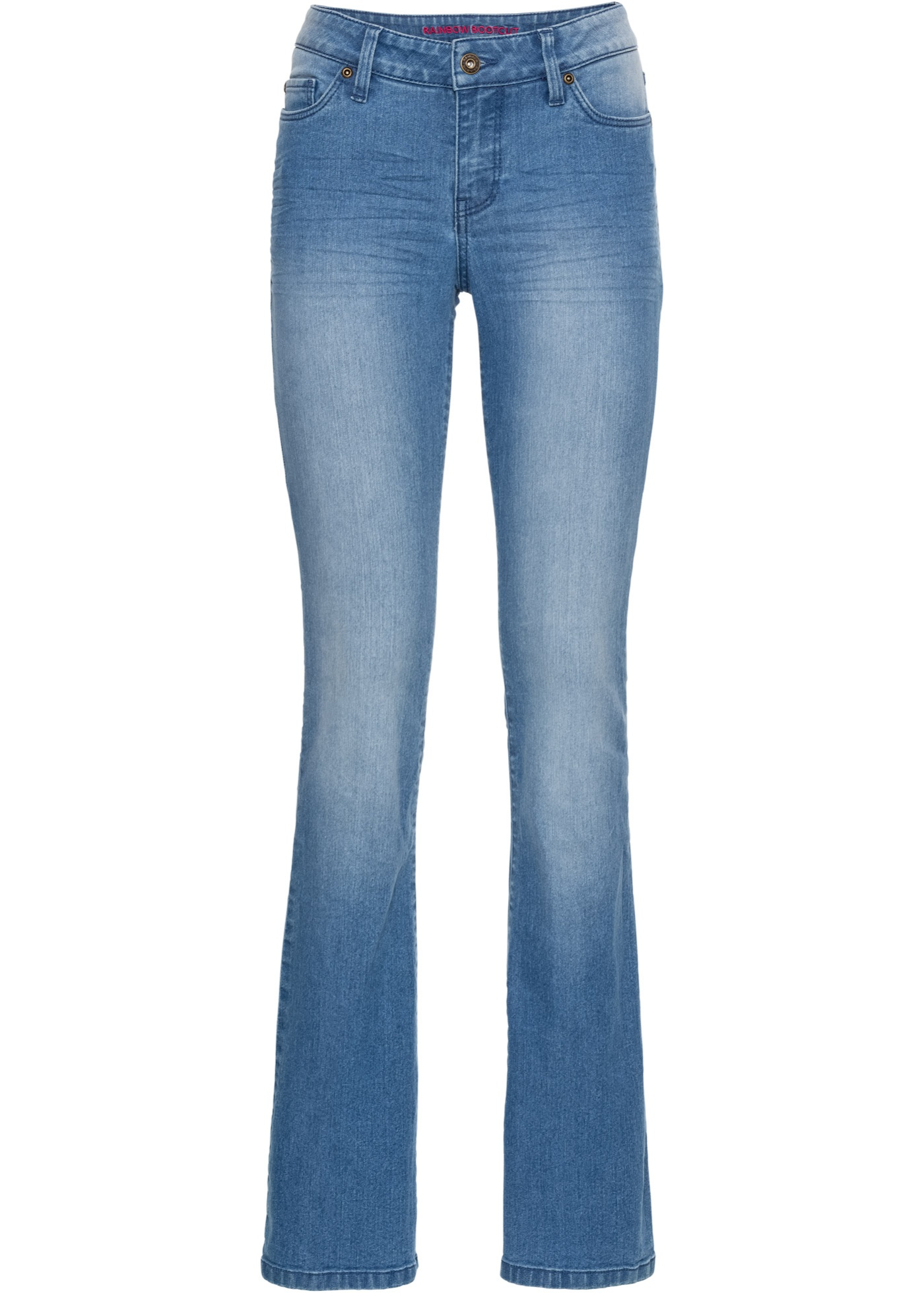 Rainbow BonprixJean Bleu Pour Femme Bootcut 0PXkN8nwO