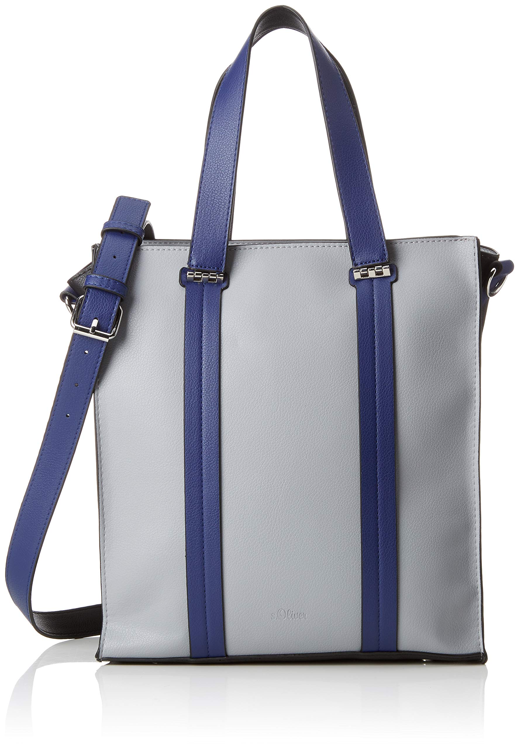 H T ShopperCartable oliverbags Grey14x26x30 Cmb S FemmeGrislight X mNywOv80Pn