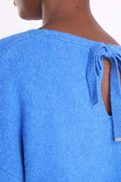 Instinct AcryliqueFemme Bonobo Taille Pull L Bleu Manches Longues Nnmv80wO