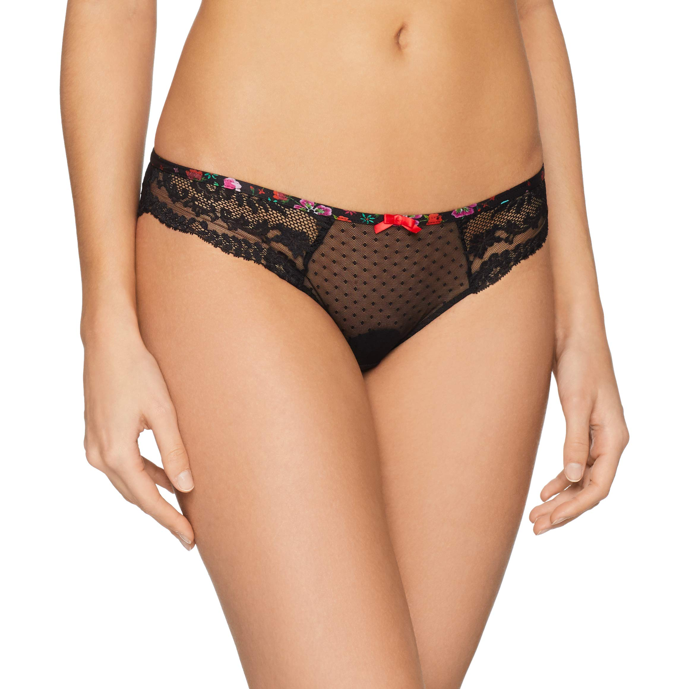 Extase Aubade BrésilienneNoir Culotte Magi44taille Fabricant 5Femme Delicate Magie 7gIyYvbf6