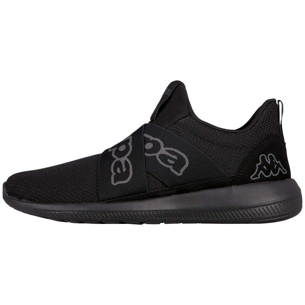 Mixte Basses IiSneakers Eu Faster 111142 Kappa AdulteNoirblack oxCedWBr