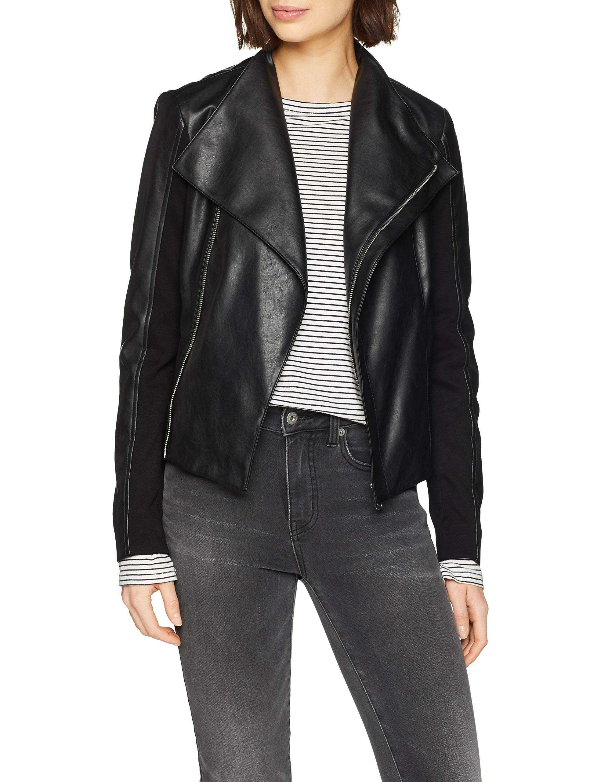 Slim Jeans Soft K29936taille Ecoleather Trussardi Fabricant40Femme black Motorcycle BomberNoirk299 Fit Jacket Veste Ivgf6yYb7