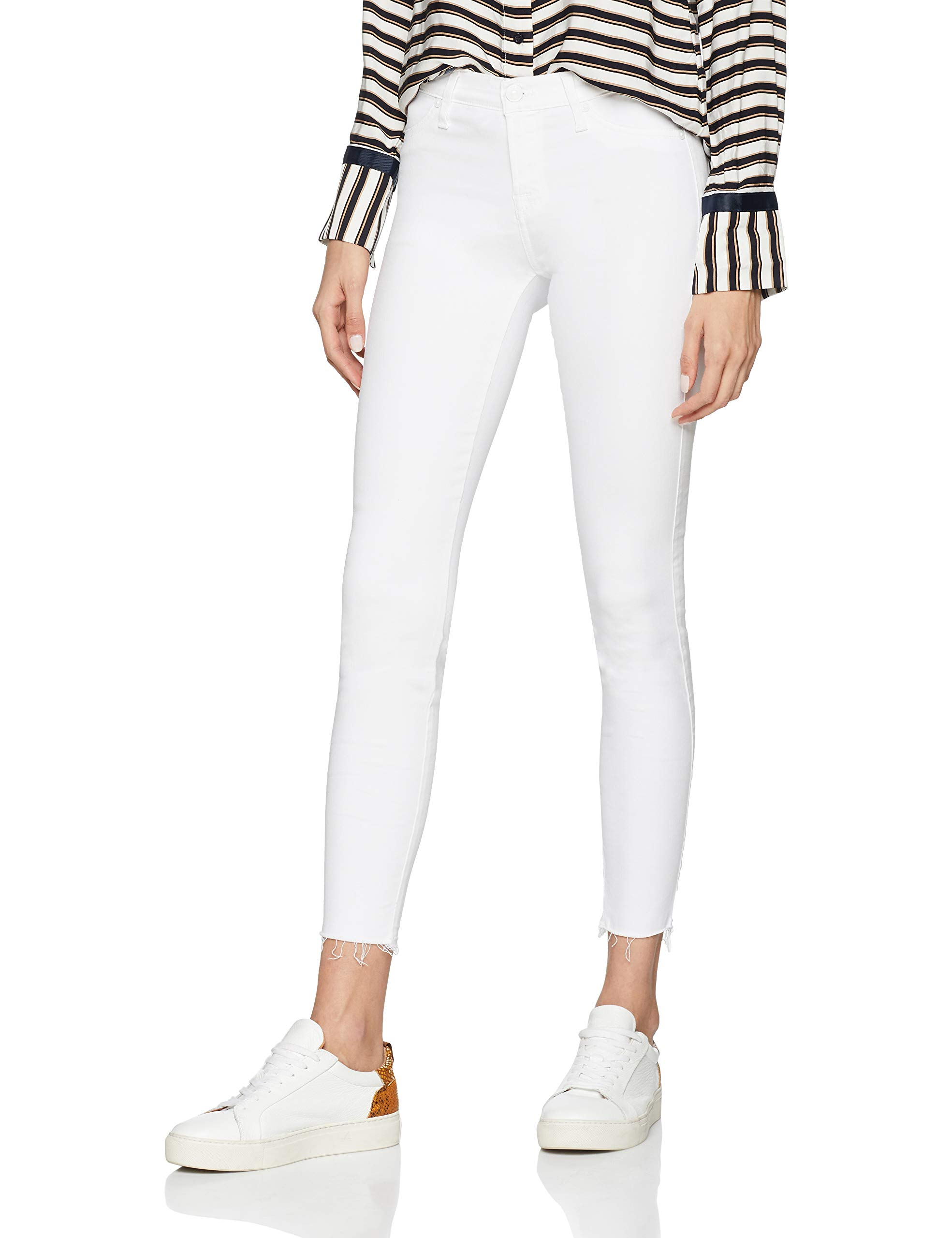 Pure Seven Illusion Skinny Fabricant30 Sagl 0zrtaille For The CropJean Mankind International FemmeBlancslim White All 29DeWHIEY