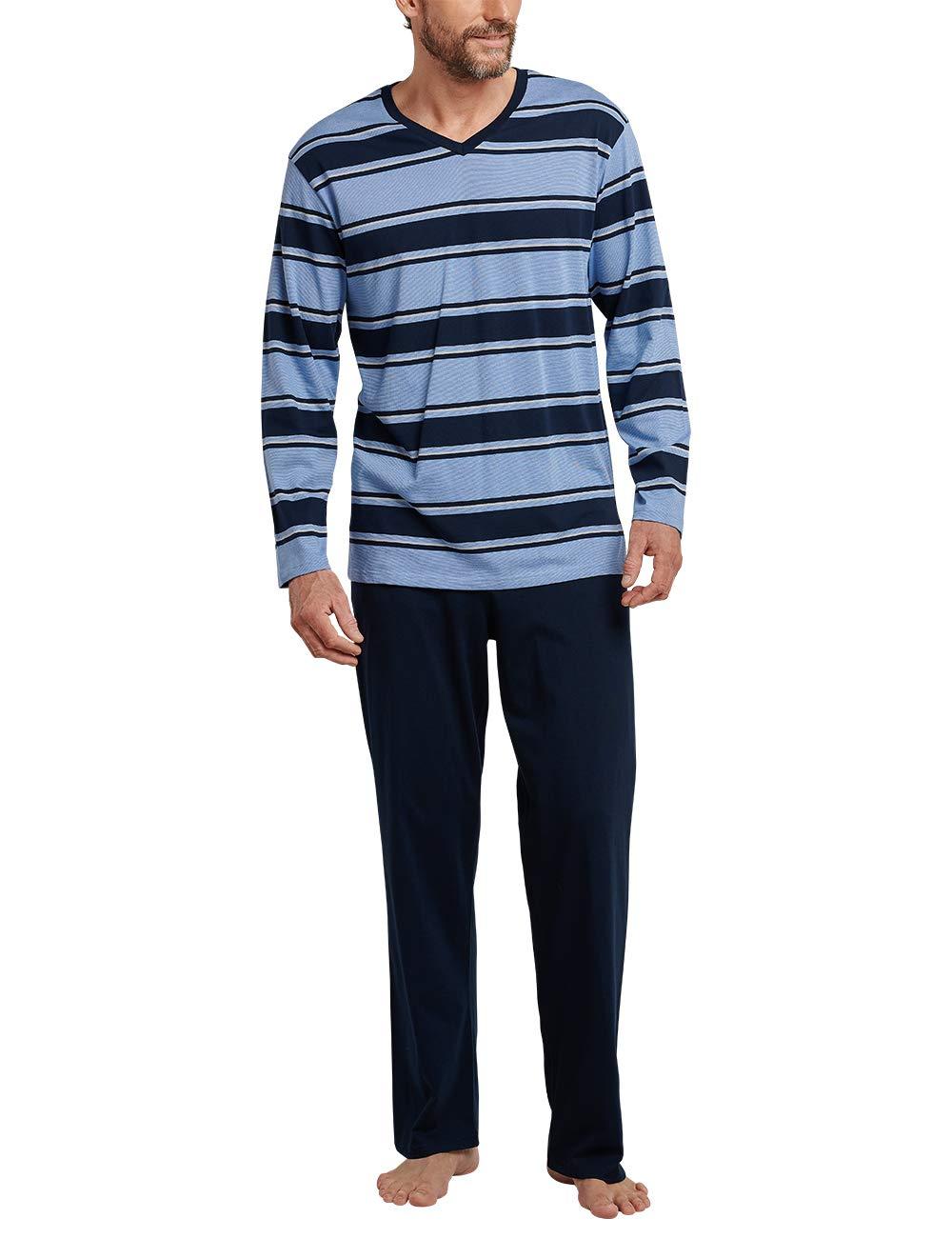 Du Lang Pyjama Schiesser Fabricant048 Ensemble Schlafanzug De HommeBleu800Smalltaille 43Rj5AL