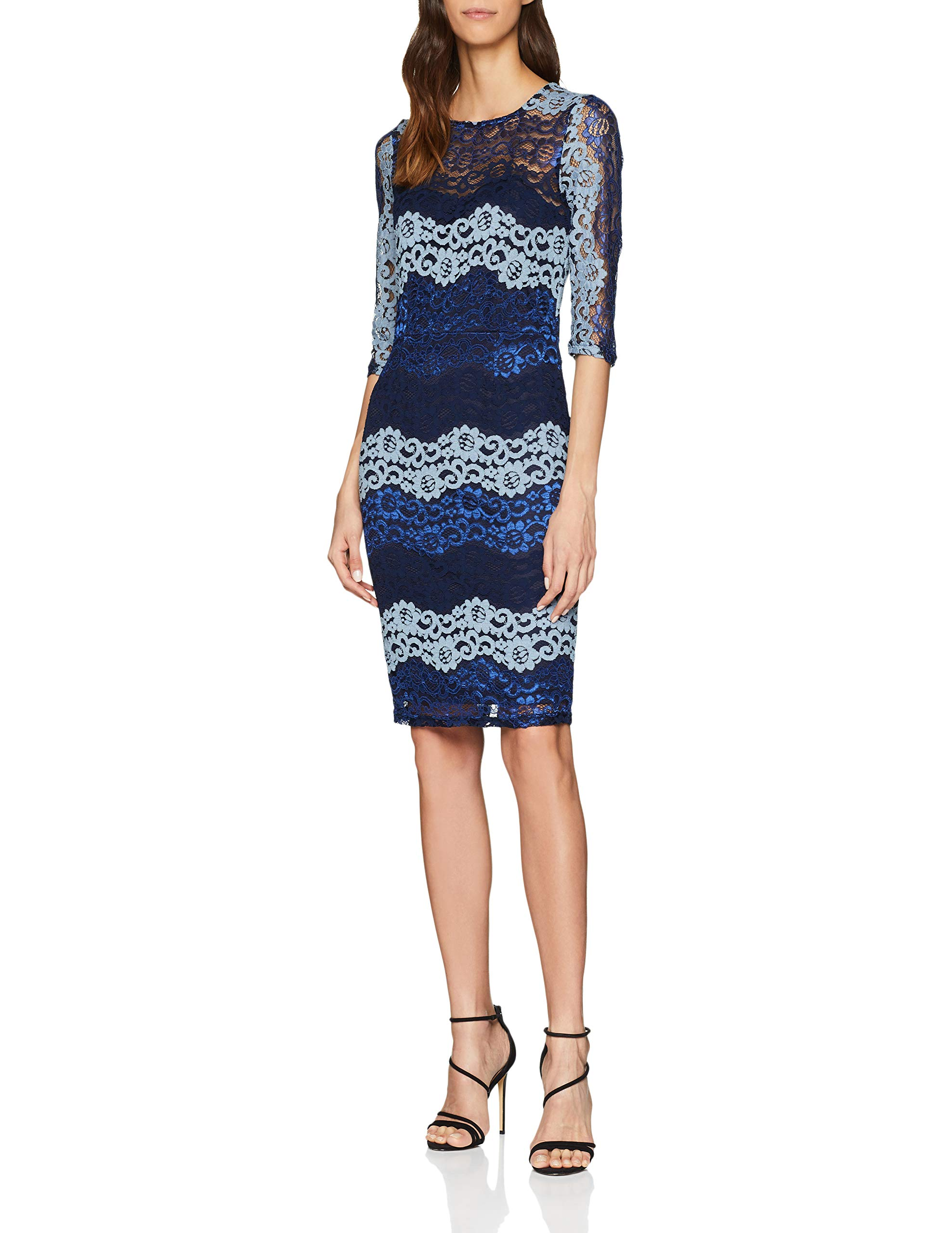 Dolls Bodycon Paper Lace RobeBleublue 00140taille Fabricant12Femme WEHD29IY