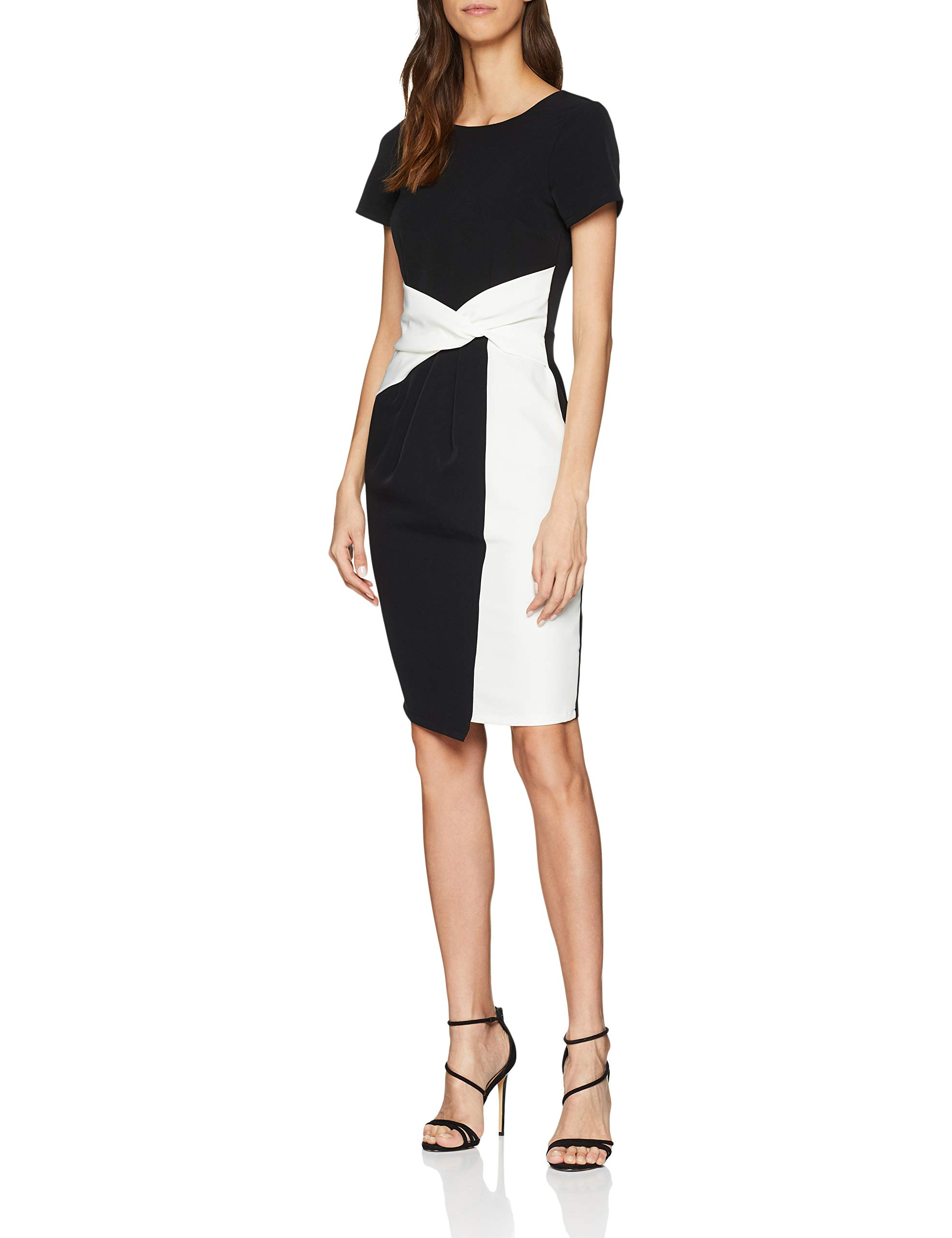 Paper Dolls 00138taille Twisted Fabricant10Femme Bodycon RobeNoirblack Wasit cTFl3K1J