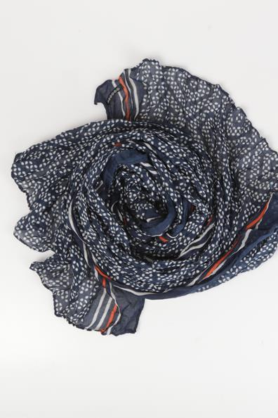 En Bleu PolyesterHomme Fin Tu Bonobo Foulard Tissu Taille rCWxBoed
