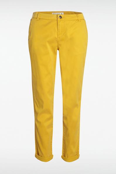 Instinct Chino CotonFemme Bonobo 36 Taille Jaune Pantalon 8kn0PwO