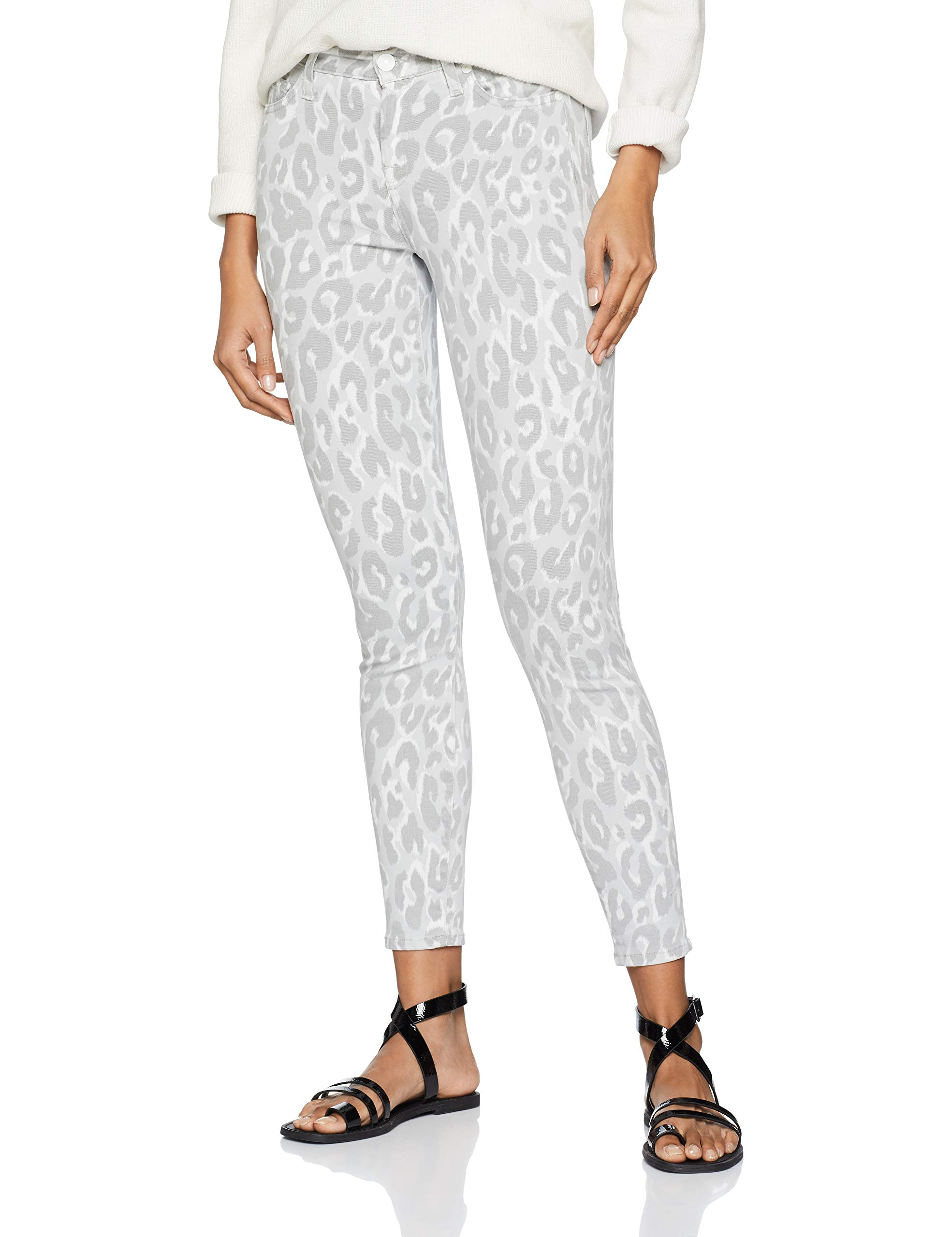 Seven Sagl For Mankind Print 0mgtaille All The FemmeMulticoloreléopard CropJean International Fabricant29 Skinny mONwnyv8P0