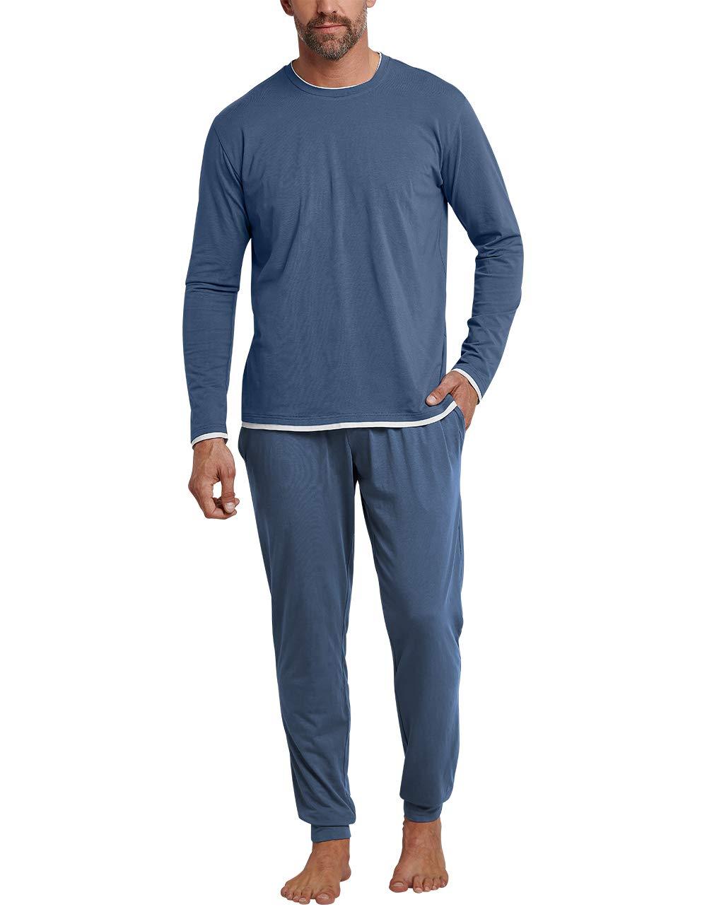 PyjamaBleuindigo Fabricant058Homme De 824Xxx Schlafanzug Ensemble largetaille Schiesser Lang QstrhCBodx