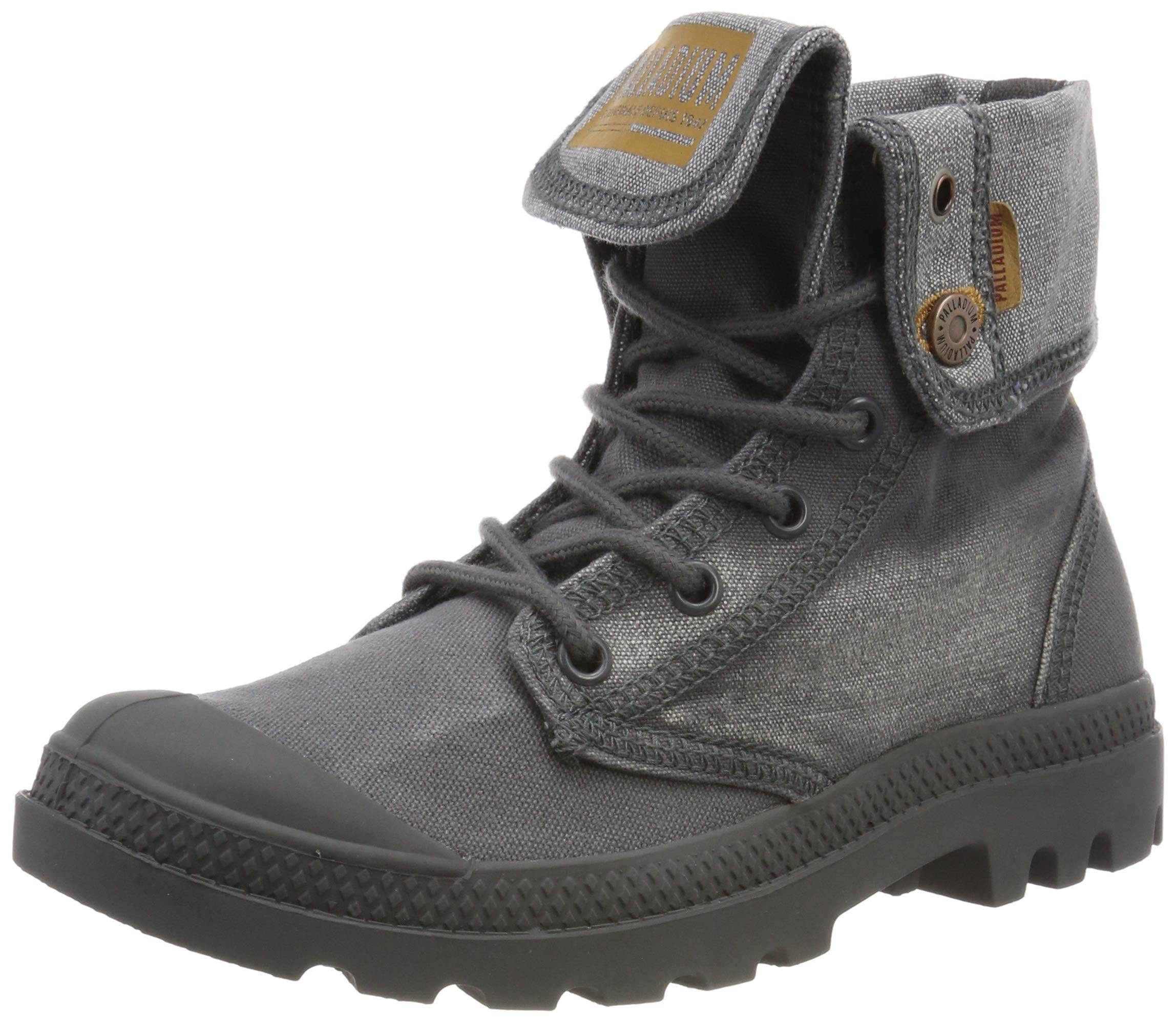 Souples BaggyBottesamp; J3738 Mixte Iron Palladenim Eu Bottines Palladium AdulteGrisforged 0k8nOwP