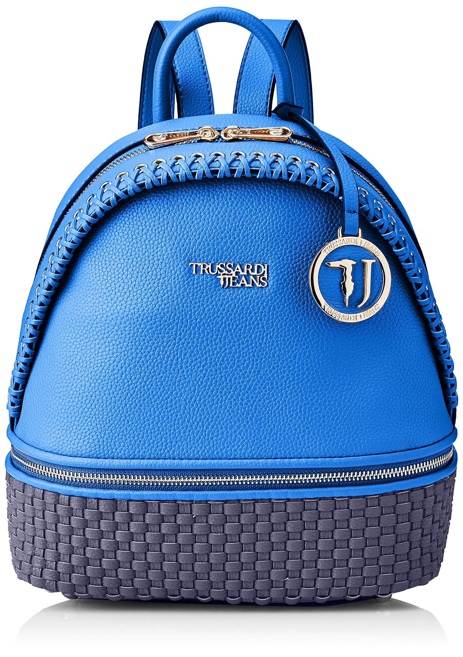 À X FemmeBleubluette27 Mimosa OothSac Jeans Centimetersw Trussardi Dos Backpack L 5x22x13 H 354RAjqL