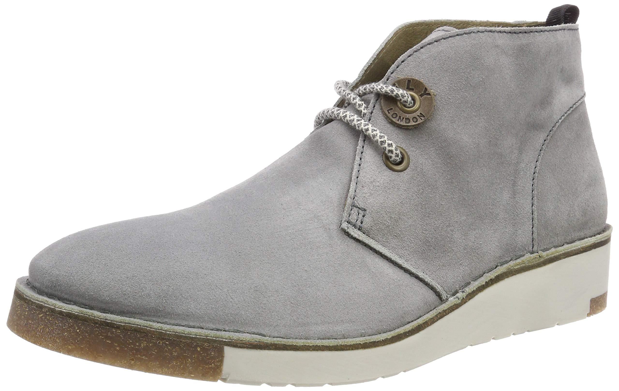00344 Eu Grey Boots HommeGrislt London Fly Swor993flyDesert QoWBreECdx
