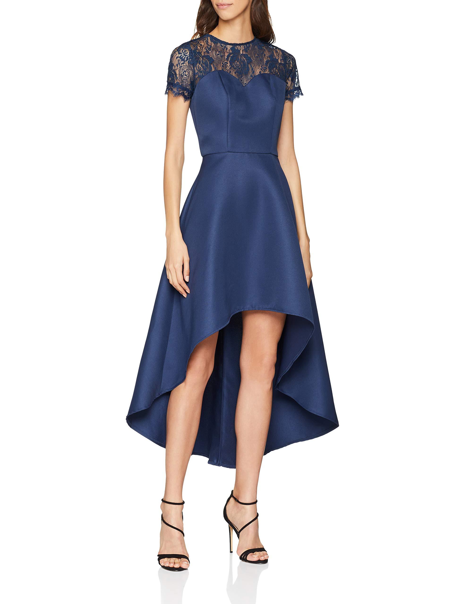 RobeBleu Chi Navy42taille FabricantUk London Dress 14Femme Jasper Ibgvf7mYy6
