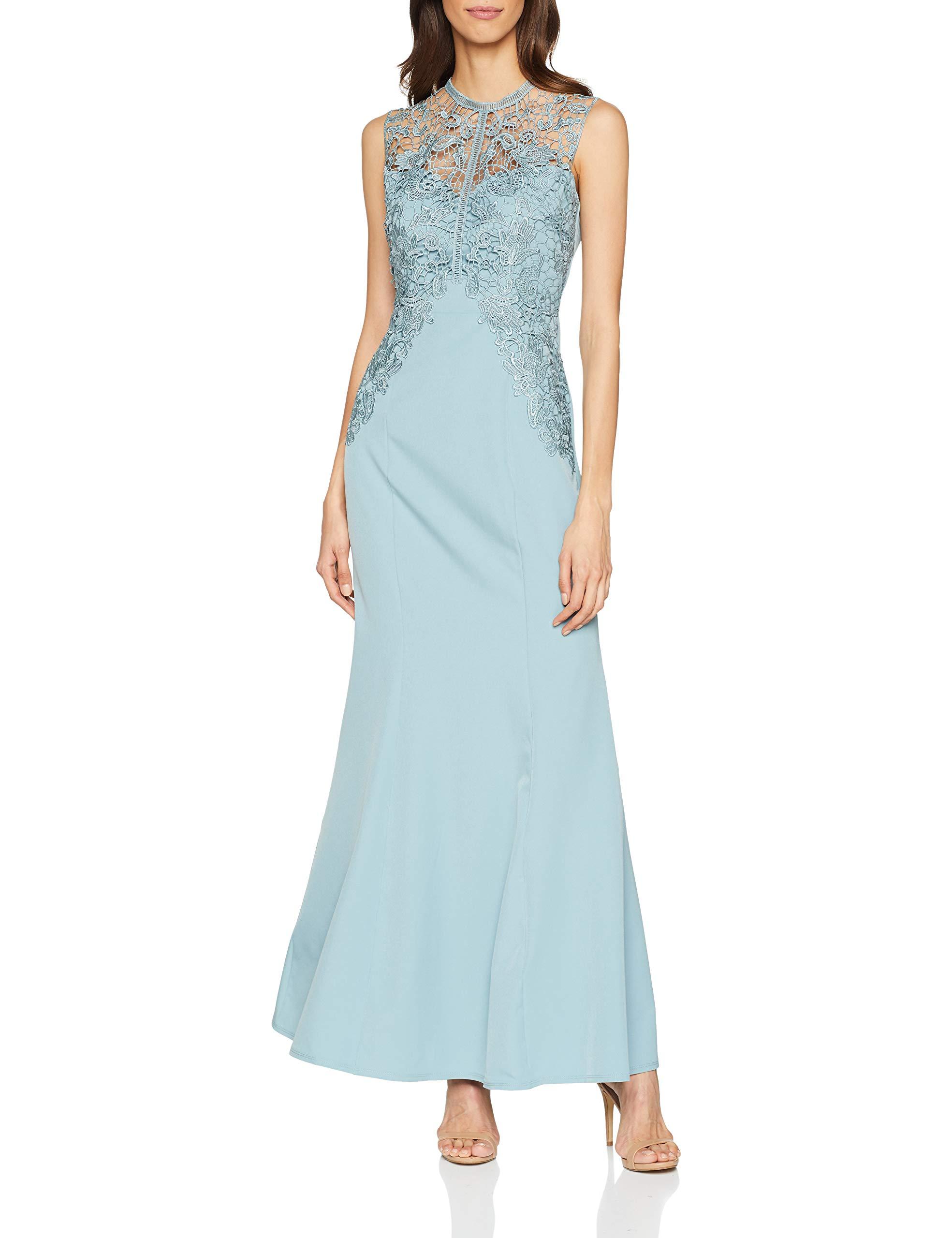 Lizzy RobeBleuglacier36taille Maxi Fabricant8Femme Lace Dress Little Mistress Blue Crochet 3lKT1JFc
