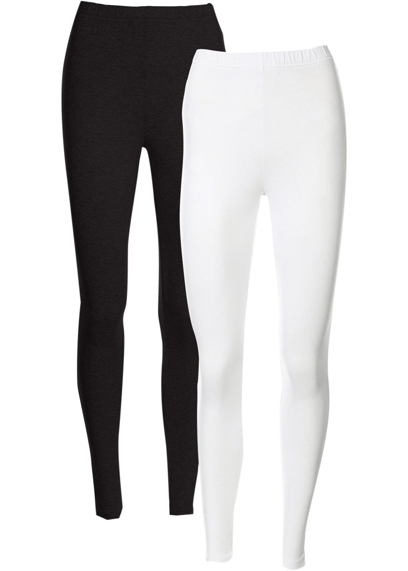 CollectionLot Leggings Blanc De Pour Femme Bpc 2 Bonprix Extensibles lF1cKJ3T