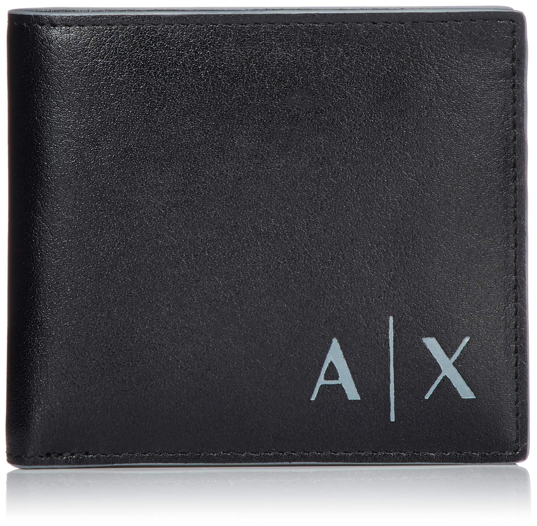 Cmb Exchange H T CardPortefeuilles X 5x11 HommeNoirblack10x1 Credit Armani 5 Logo erxBWdCo