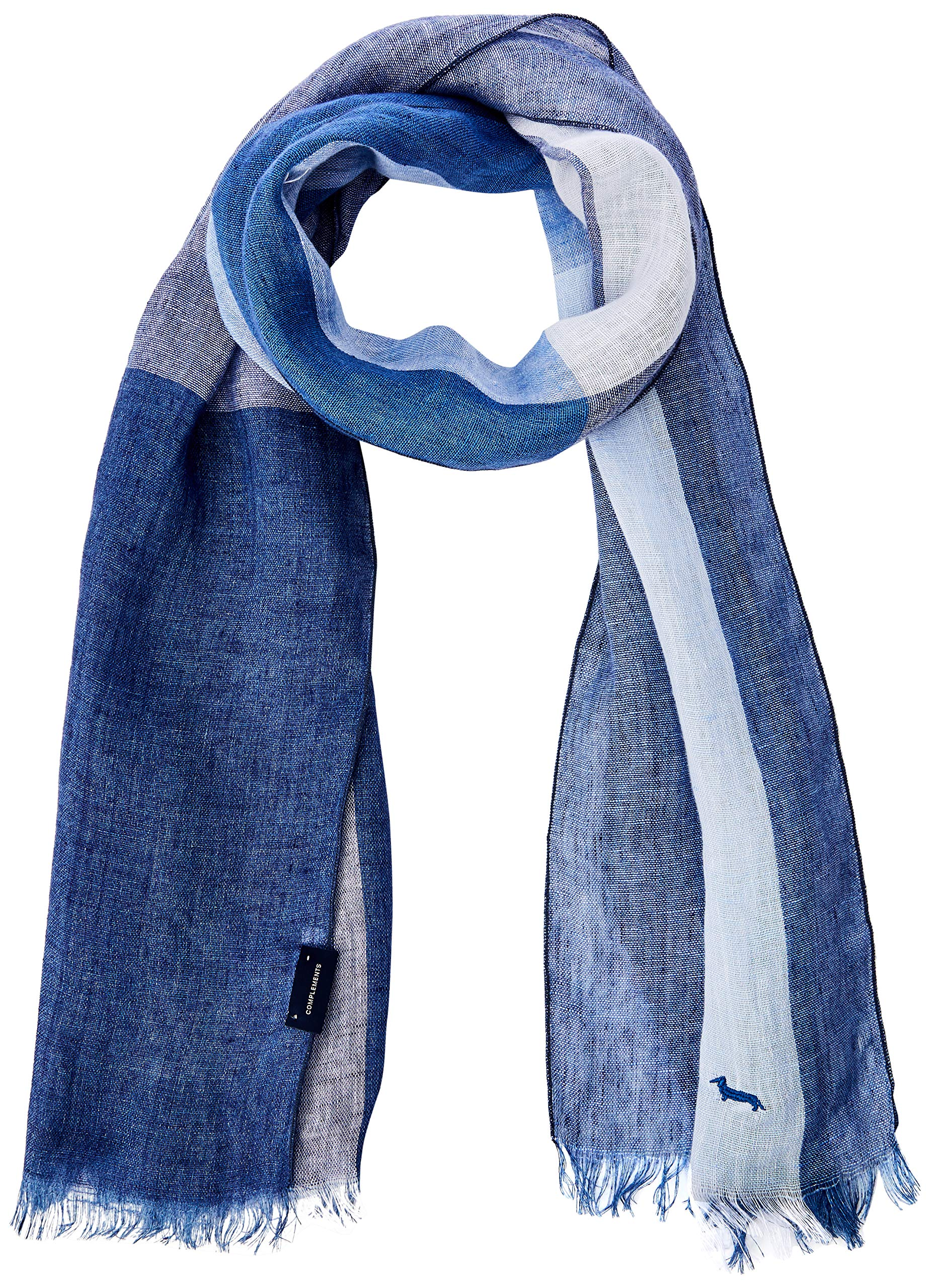 801Taille Sciarpe Blaine foulards Navy Unique Homme Blu Harmontamp; EcharpeBleu 1cKT3lFJ