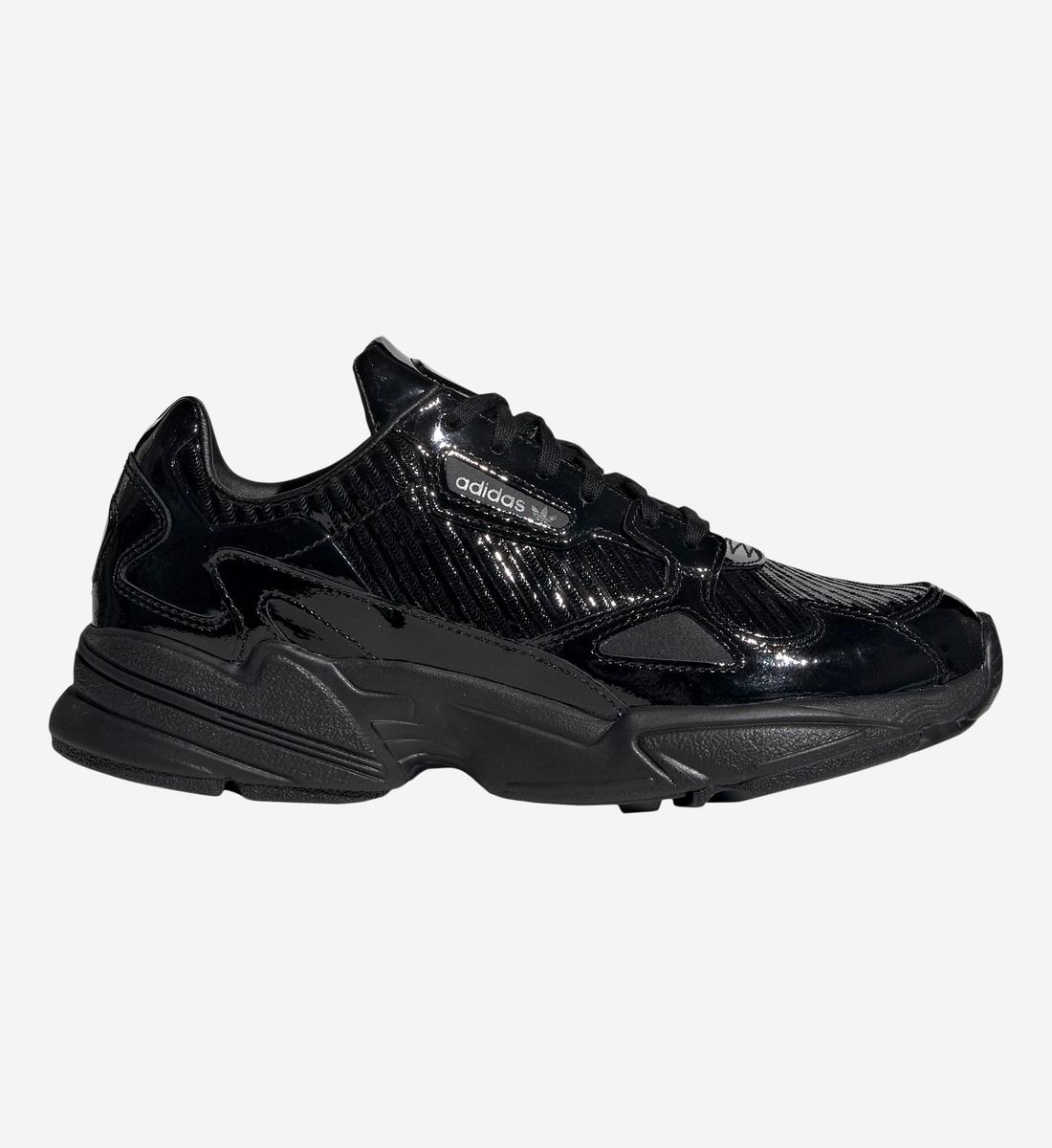 Basses Adidas Baskets Falcon Noir Originals W eWD2HEIY9