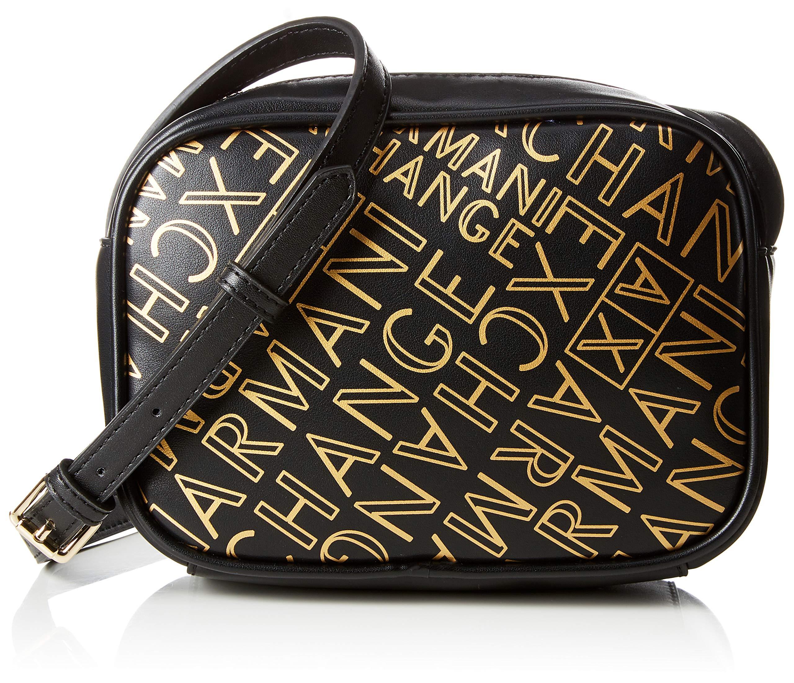 Armani Exchange BagSacs T Crossbody Cmb X Small Bandoulière gold13x6 FemmeOrblack H 5x18 j5A4LR