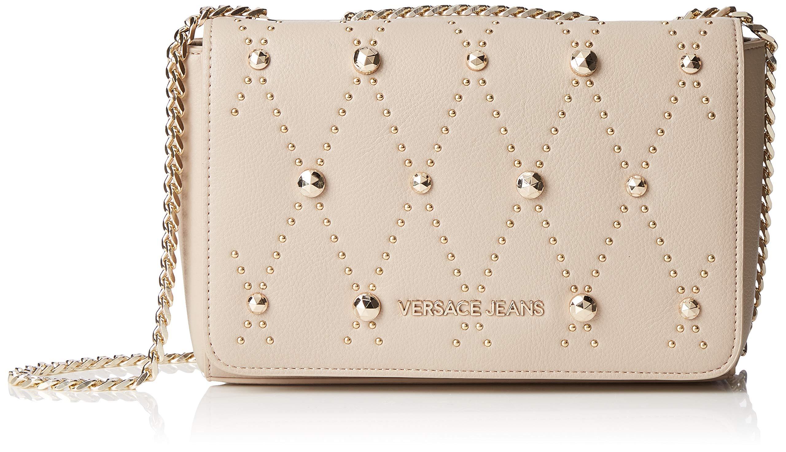 X FemmeBeigelegno8x15 BagSac À Versace H 5x23 Couture L Bandoulière Jeans Centimetersw QhtBsCdxr