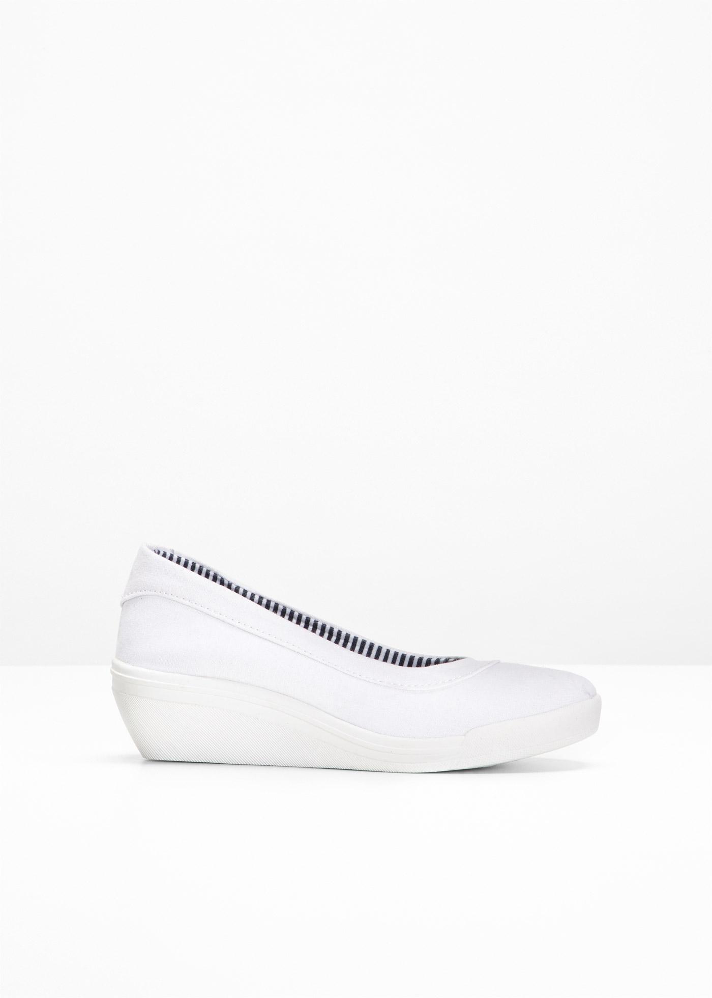 Bonprix Femme CollectionBallerines Compensées Blanc Bpc Pour MVUpqSzG