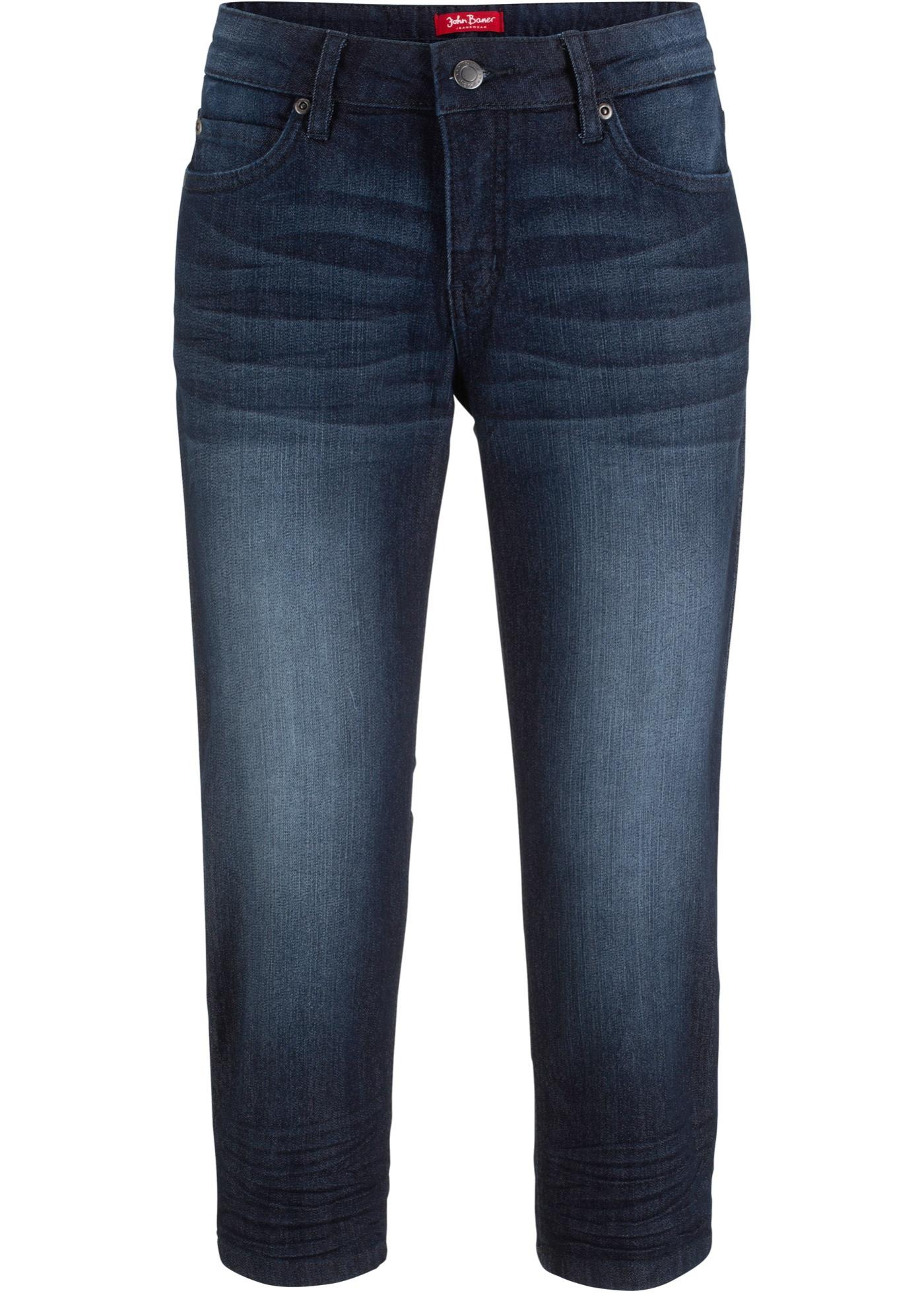 BonprixJean Confort Extensible John 4 Jeanswear Bleu Baner Femme Pour Longueur 3 DHYWE2I9