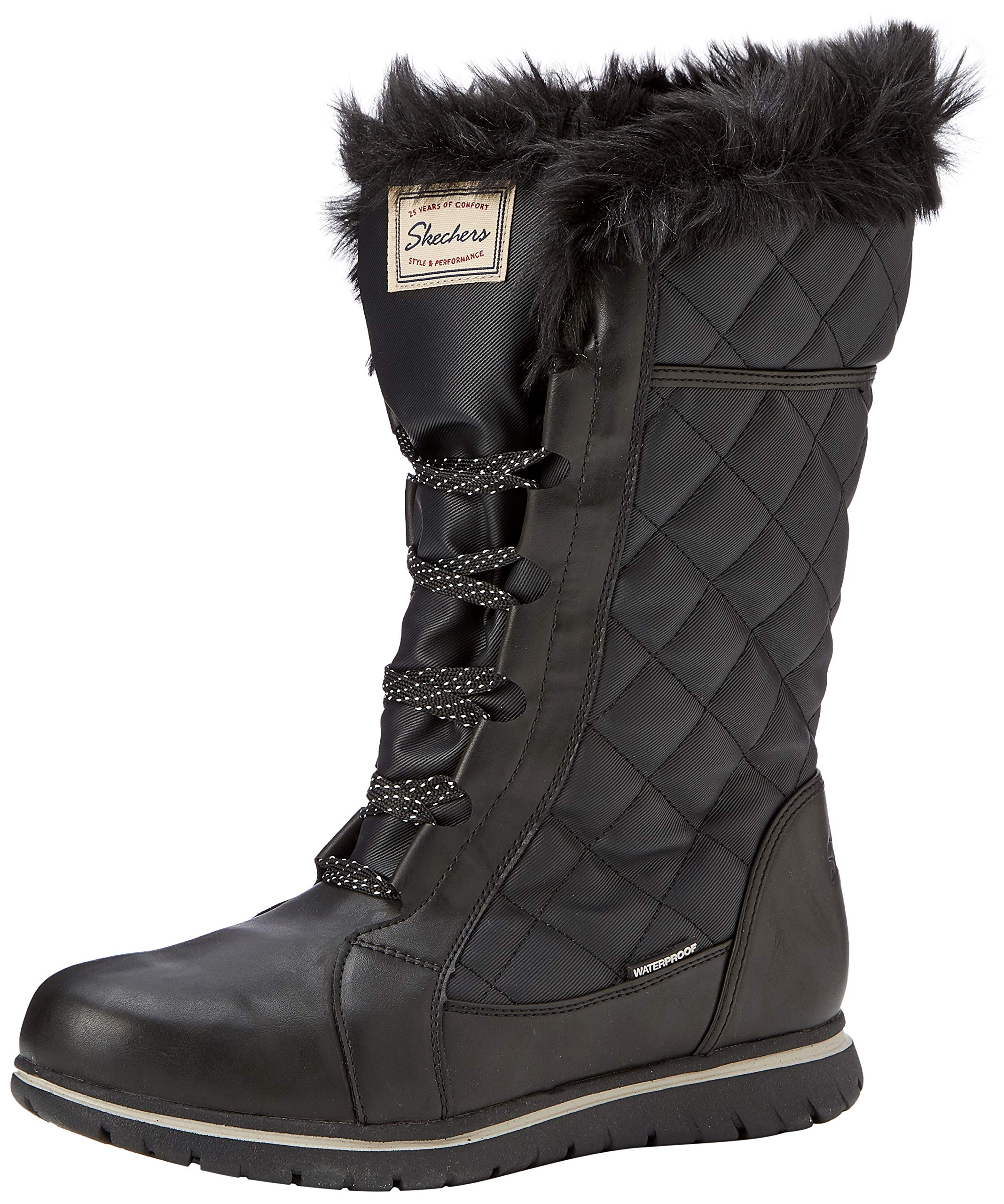 Blk40 FemmeNoirblack Skechers Motardes Eu EstateBottes oBQdCxWer