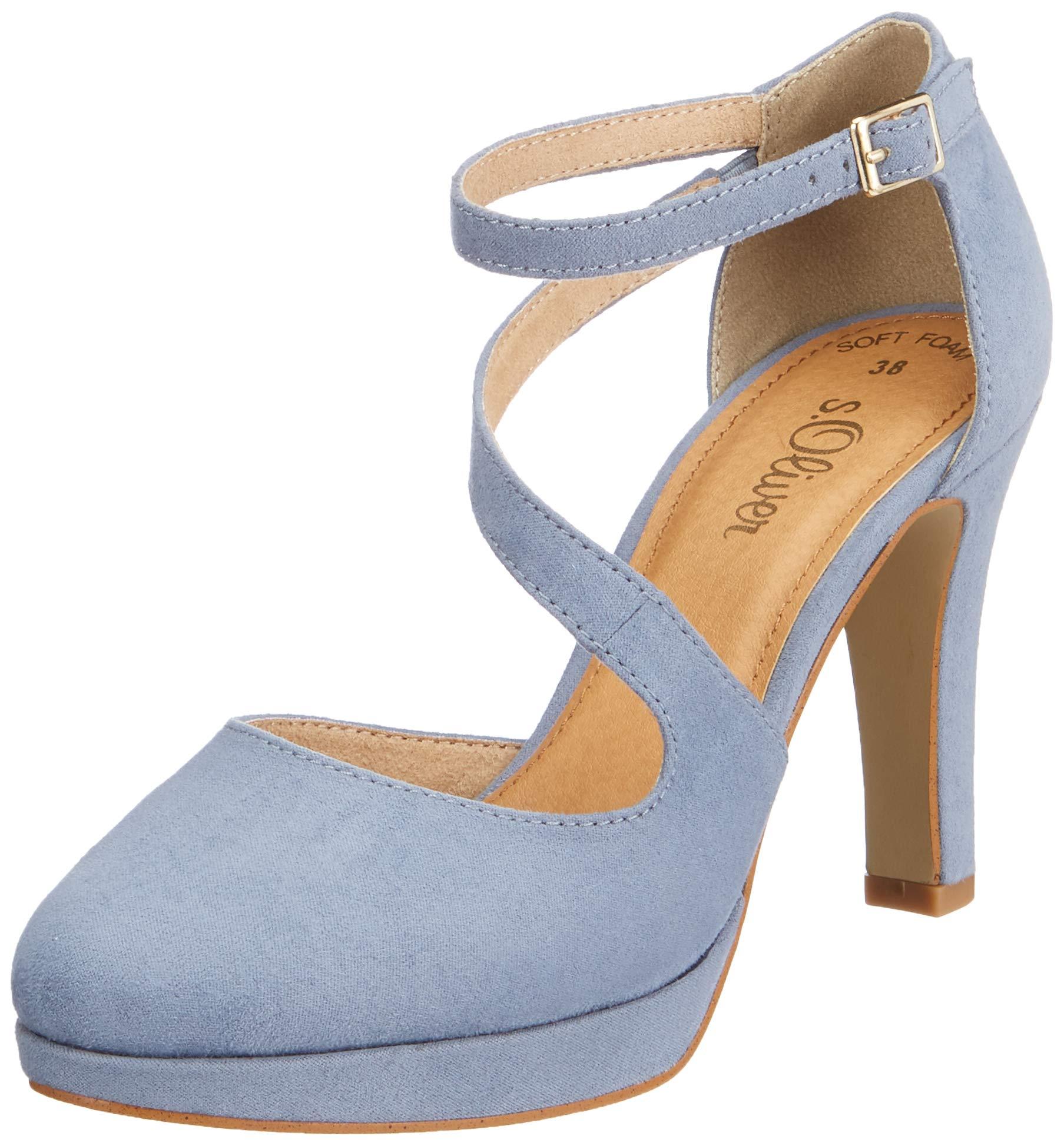 Blue 32Escarpins 80940 oliver 5 24420 FemmeBleusky 5 Eu S oeBdCWQrx
