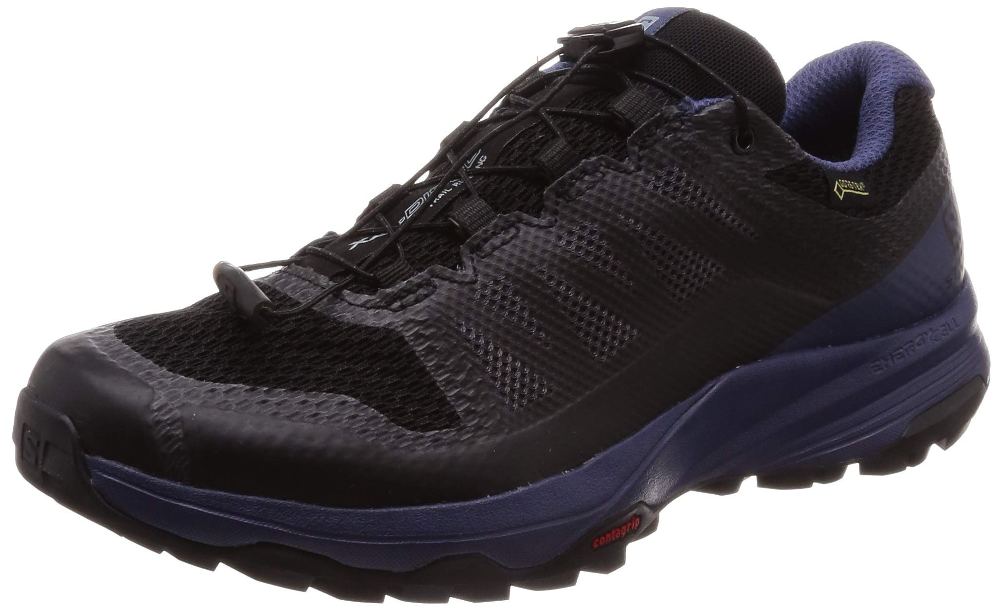 ebonyPointure43 Discovery Blue Chaussures De Gtx Trail Salomon 3 RunningXa crown 1 Femme WNoirblack 3q5AjL4R