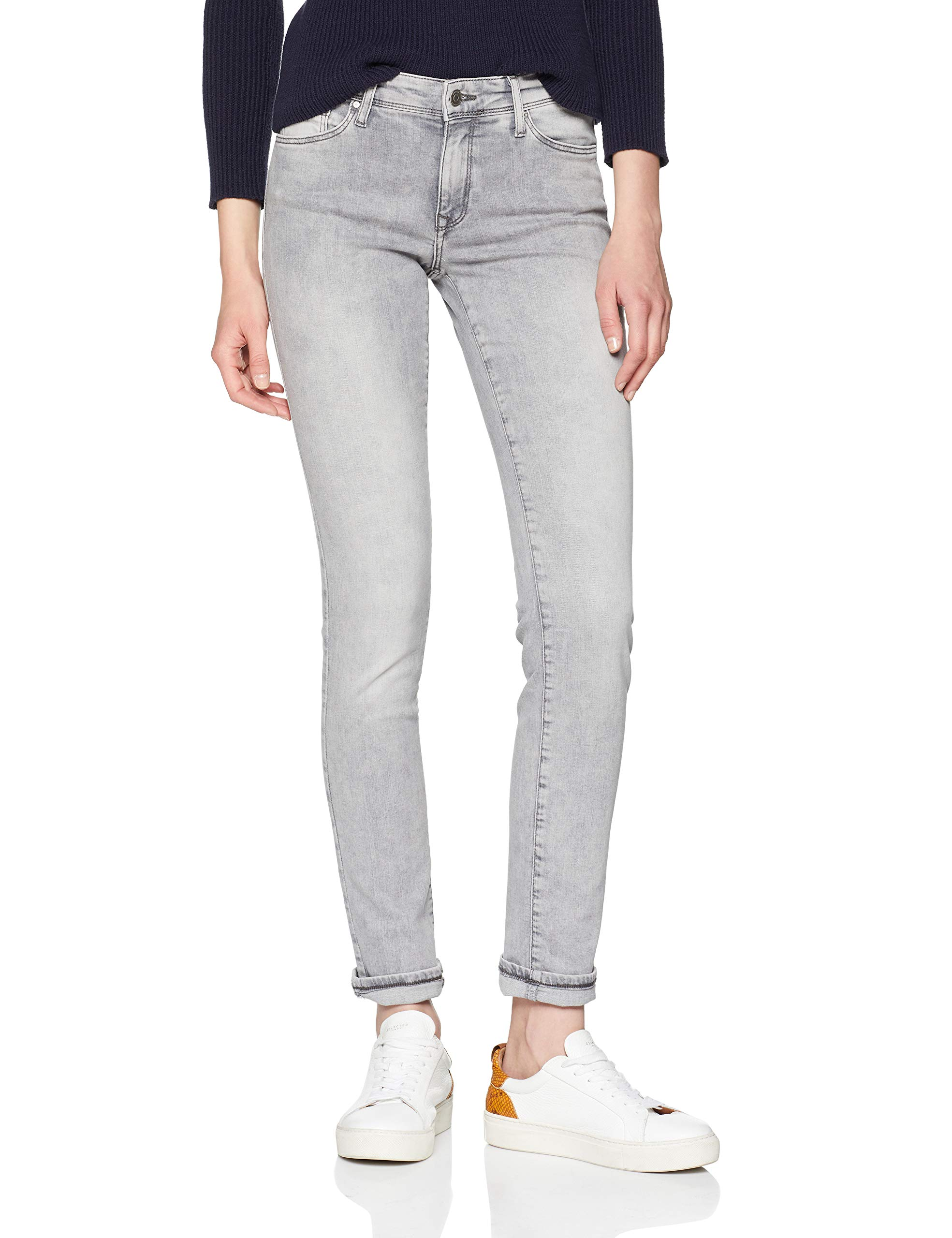 34Femme Anya SlimGrissmoky Cross Grey Jeans Light Jean Fabricant30 151W30 l34taille T3F1JlKc