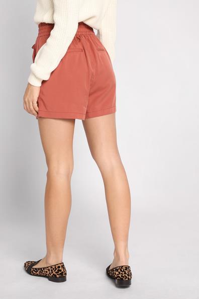 Short Cache Marron Taille Haute 34 LyocellFemme Fluide N0Ow8mvn