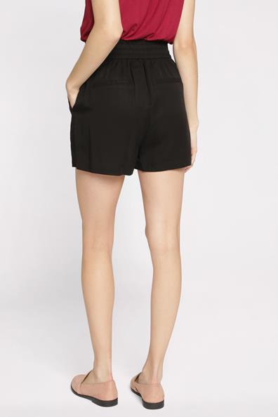 Haute Noir Short Cache Fluide Taille 34 LyocellFemme wn08OPXk