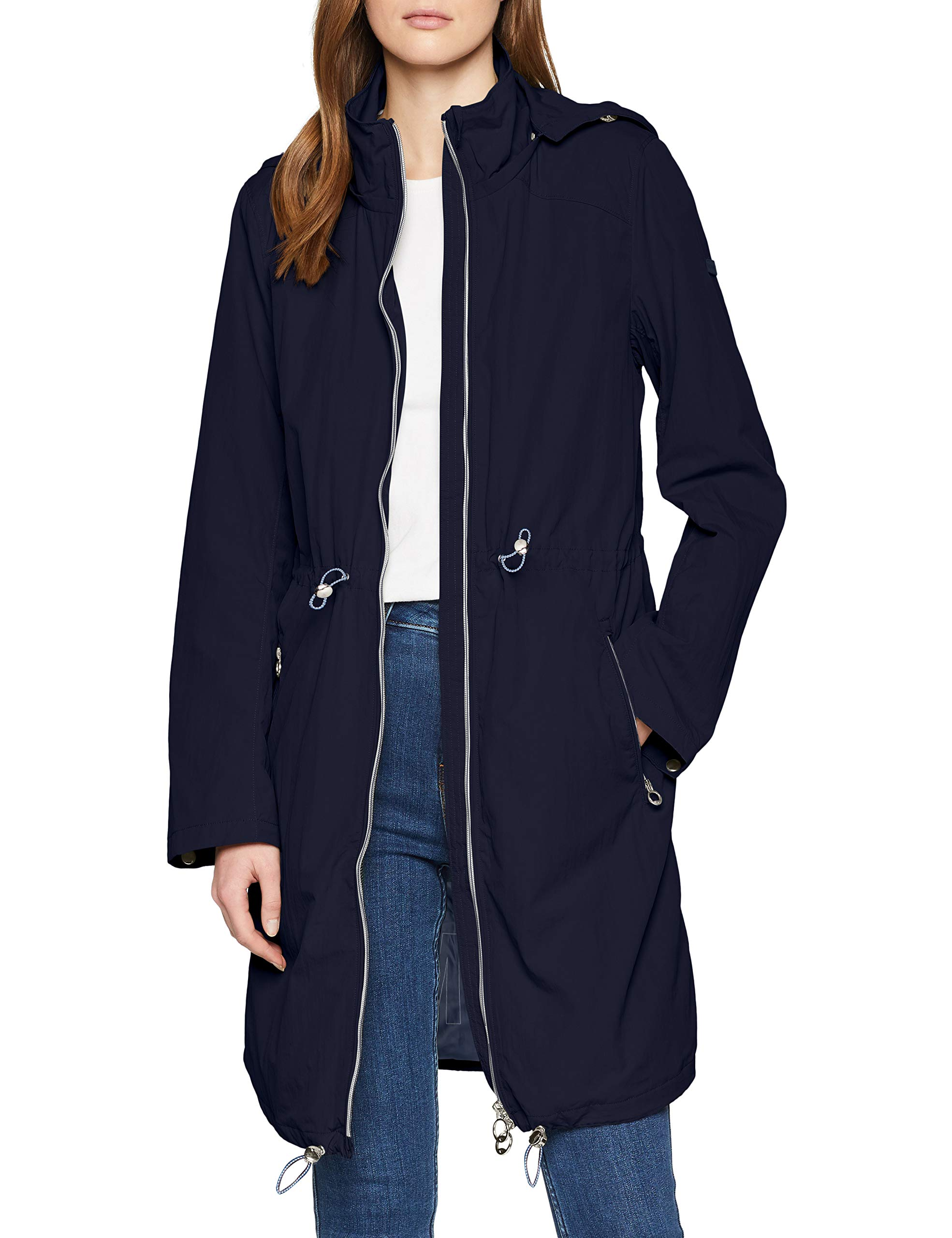 1007976 10668X BlousonBleusky Blue Captain Femme large Tailor Tom Casual OkP0nw