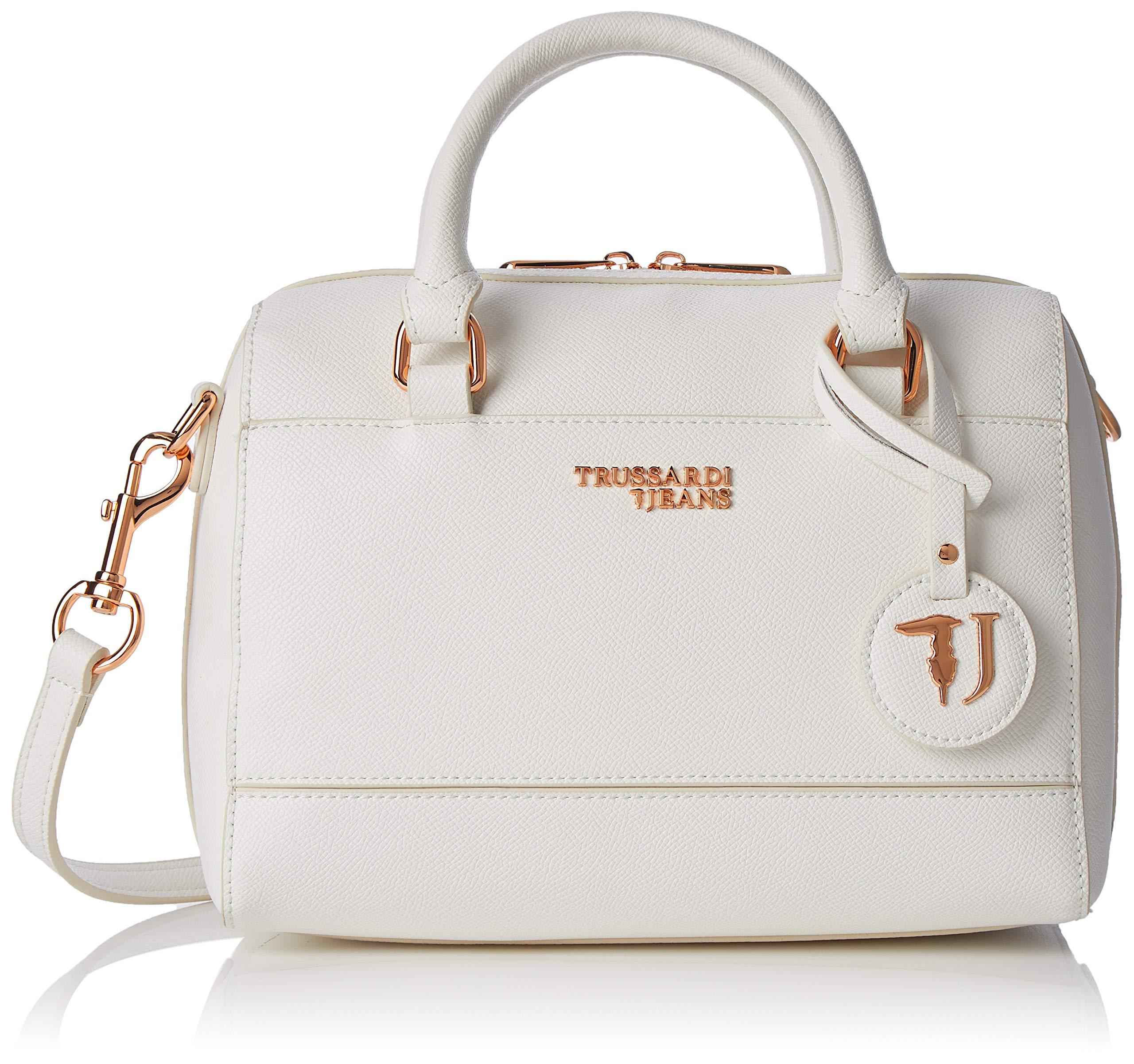 white25x19x15 H X Main T Porté Light BaulettoSac FemmeBlancoff Trussardi Cmw Jeans L easy 80wkOPXn