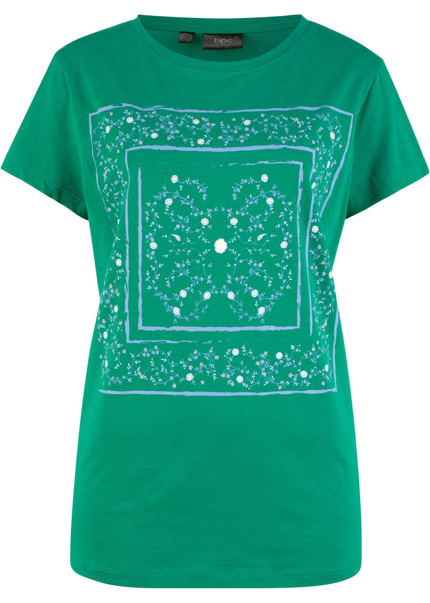 CollectionT Imprimé Bpc manches Vert Femme shirt Pour À Bonprix Mi TcFJlK1