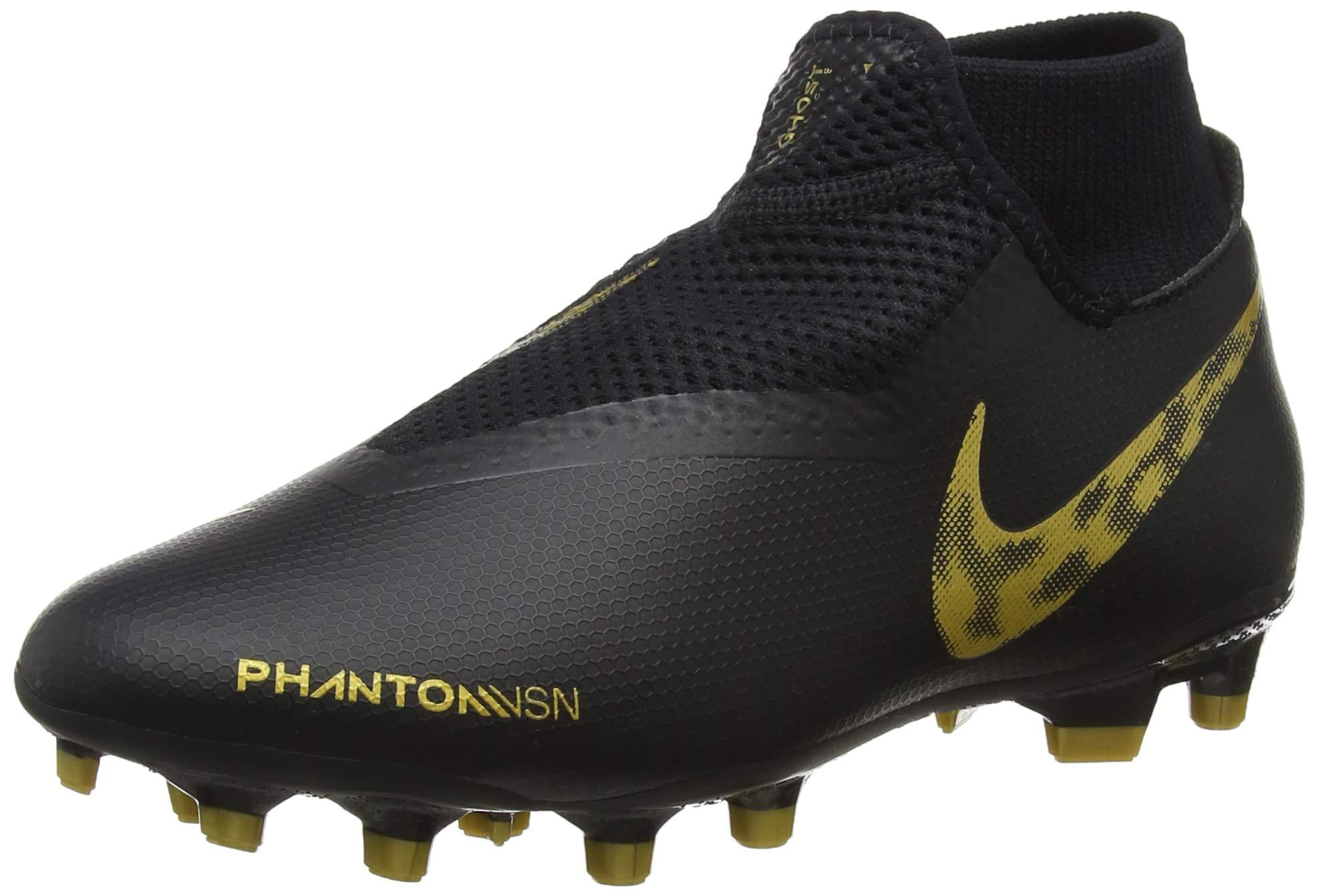 mtlc mgChaussures Vivid Nike Phantom Football Fg 07745 Df De 5 Eu Vsn AdulteMulticoloreblack Academy Gold Mixte uTPkZOXi