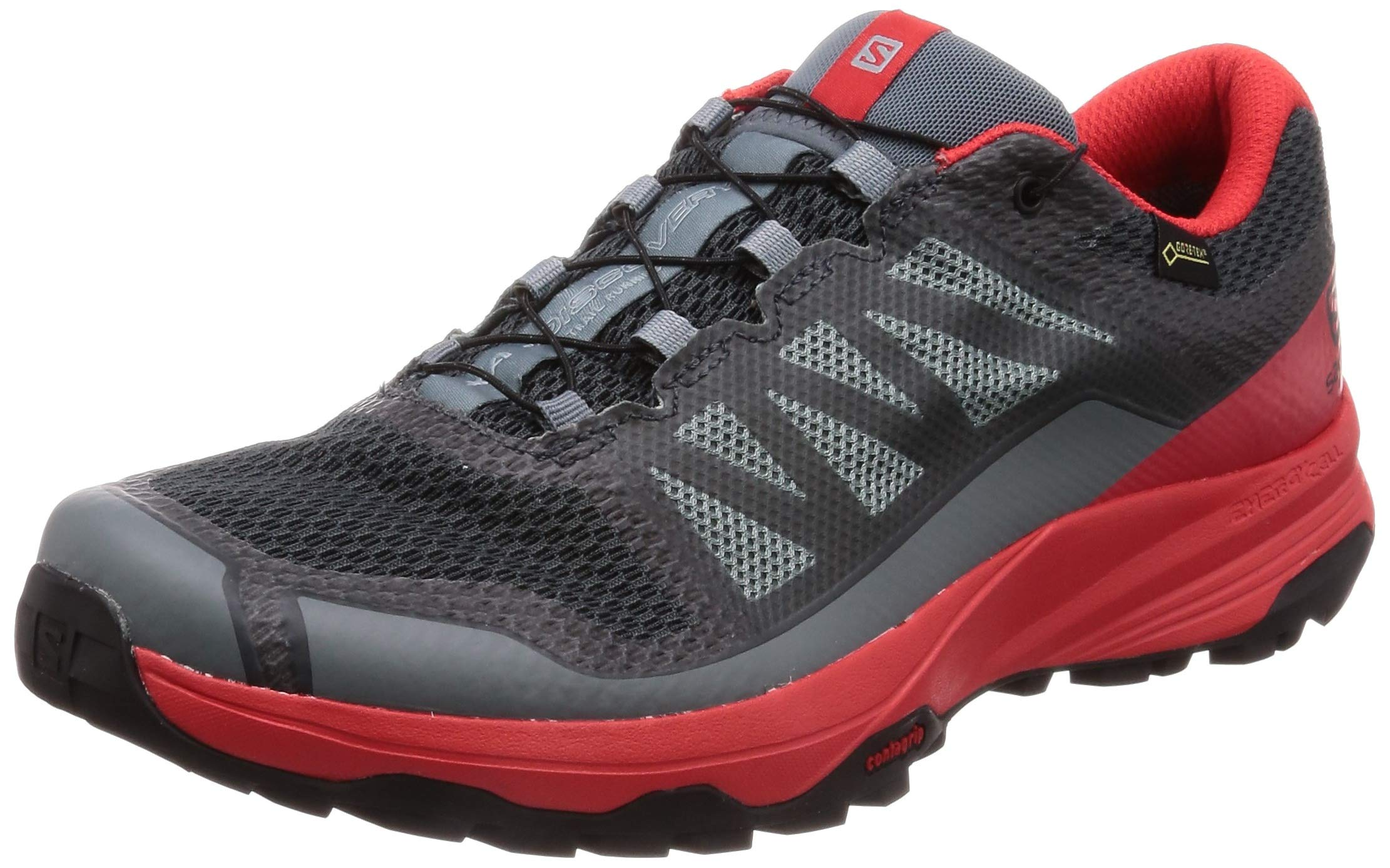 blackTaille De Trail GtxChaussures Xa 2 Salomon 3 Homme Risk Red RunningGrisstormy 40 Discovery Weather high tCxsQhrBd