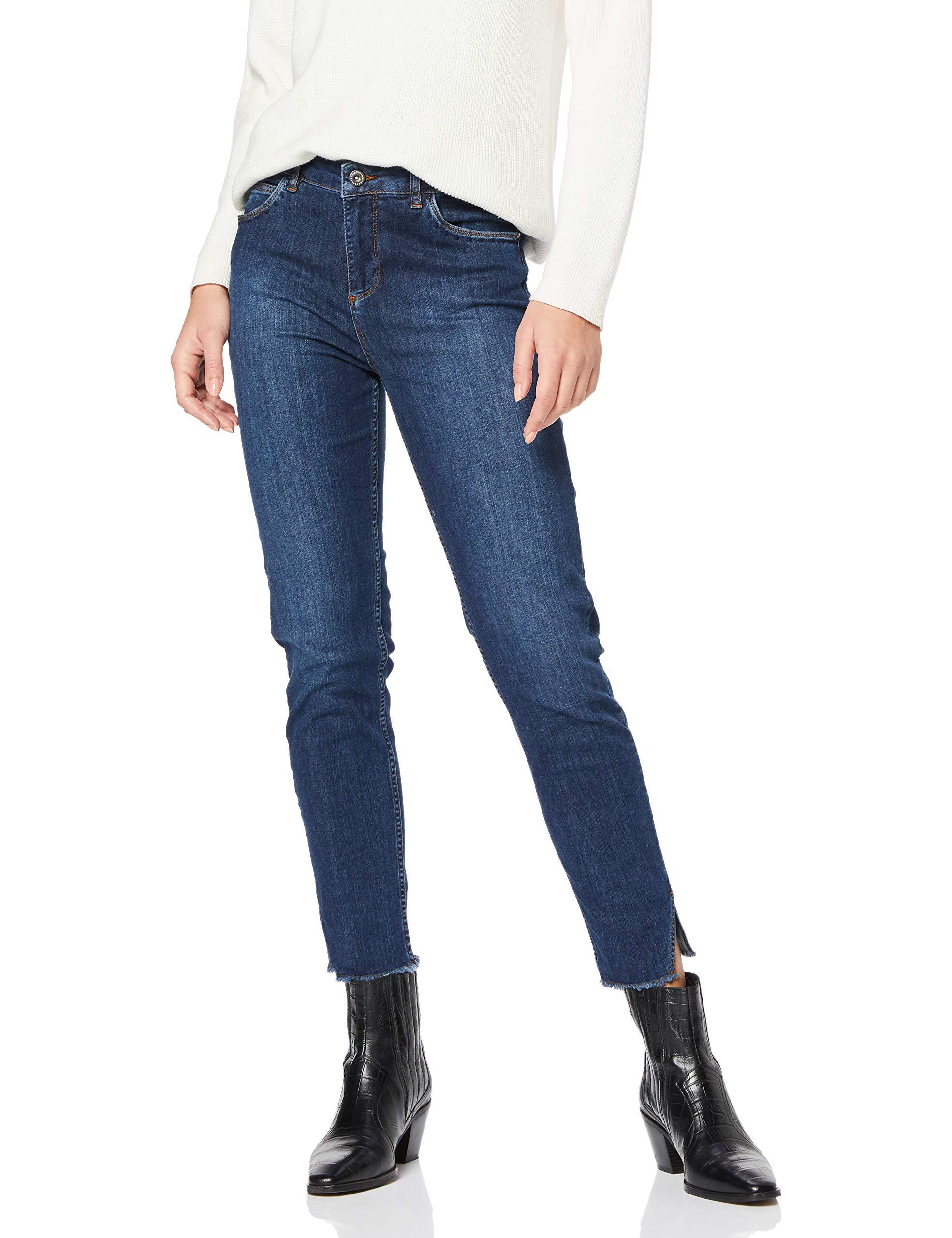 Skinny Femme Yargıcı;Pantalon Bleu W24 l33 POX8nwk0