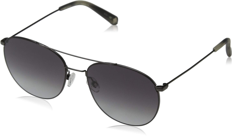 LunettesArgentédark Gun Sunglasses Griffin Baker Homme 0 Ted Montures De grey54 OkZXiuTP