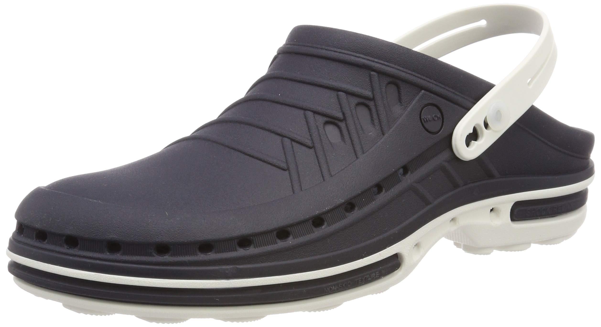 Blanc Eu Chung 03 Shi 44 Chaussures WStrap Wock Clog Navy bleu 43 cRq4L35AjS